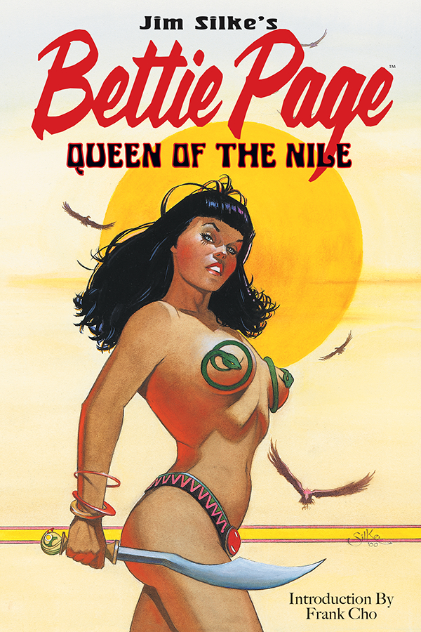 BETTIE PAGE QUEEN NILE TP
