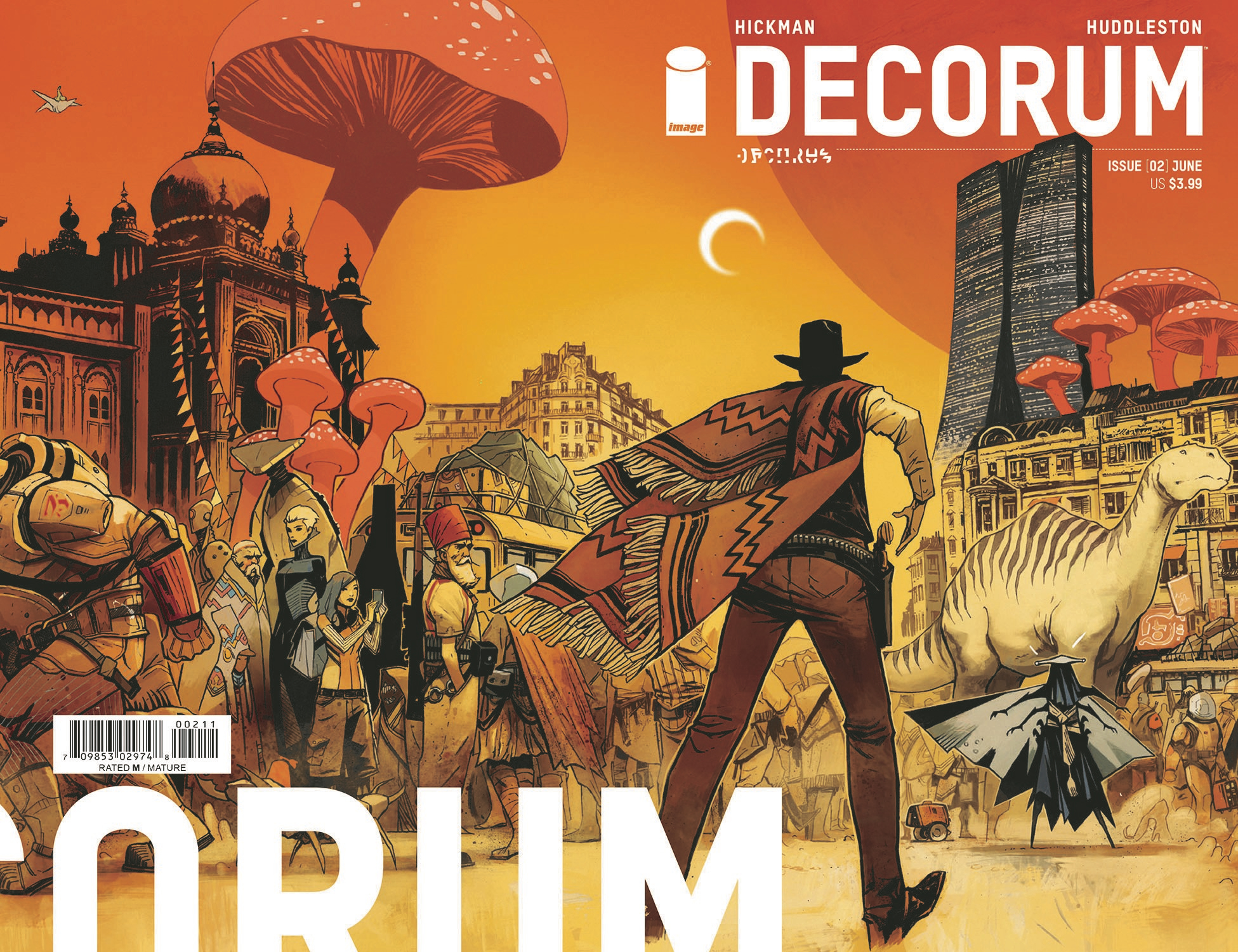 DECORUM #2 CVR A HUDDLESTON (MR)