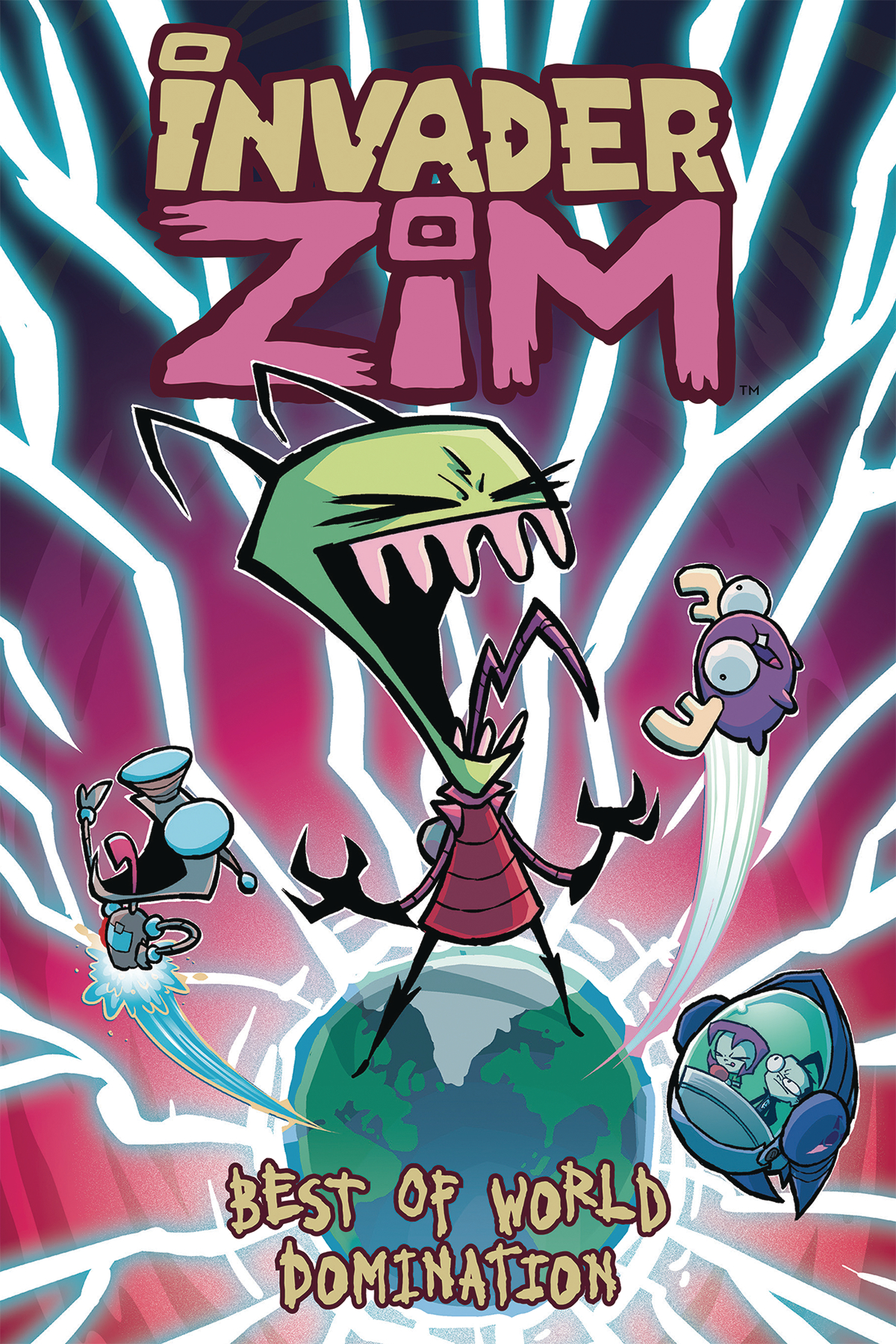 INVADER ZIM BEST OF WORLD DOMINATION TP