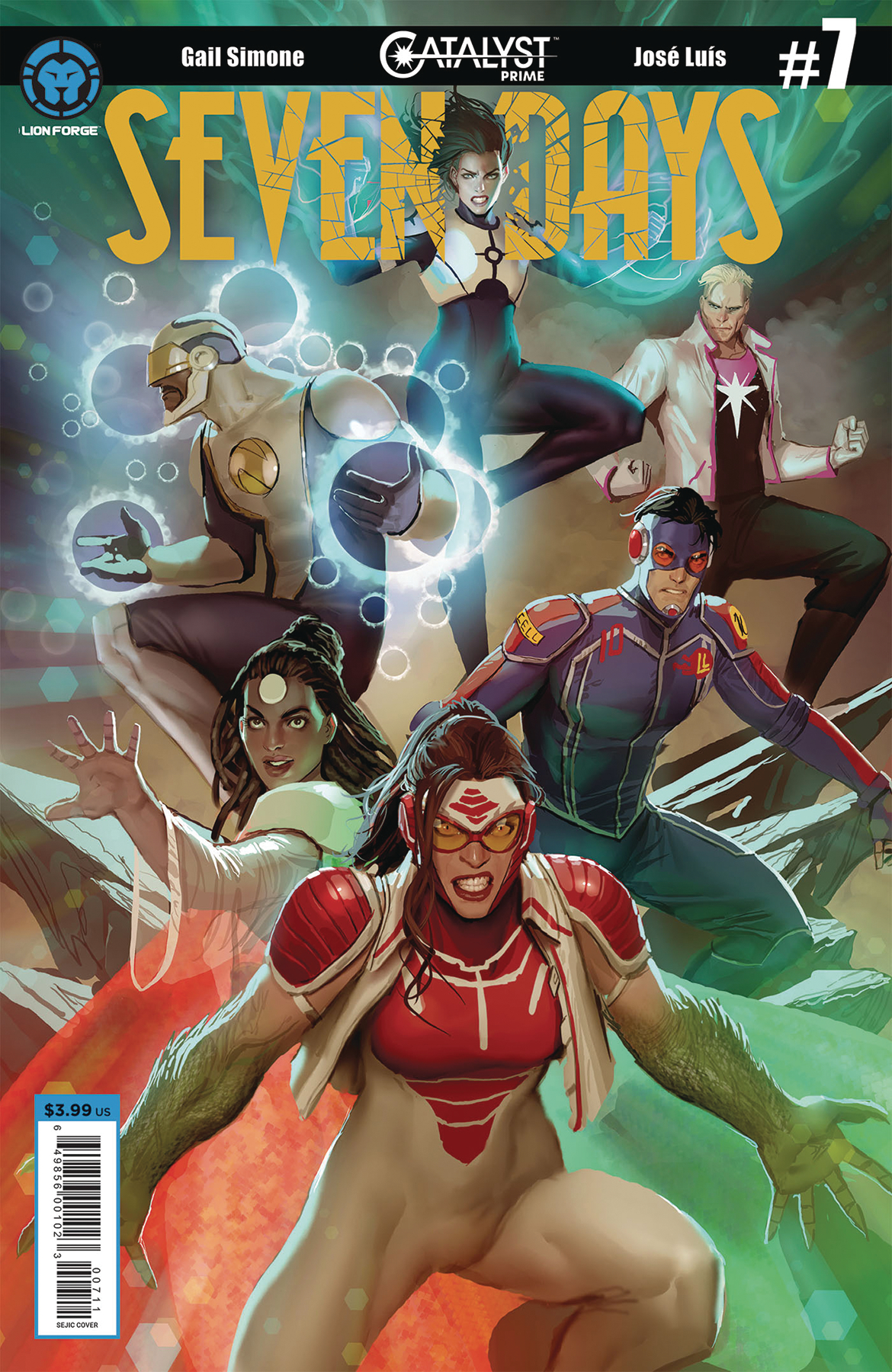 CATALYST PRIME SEVEN DAYS #7 (OF 7) CVR A SEJIC