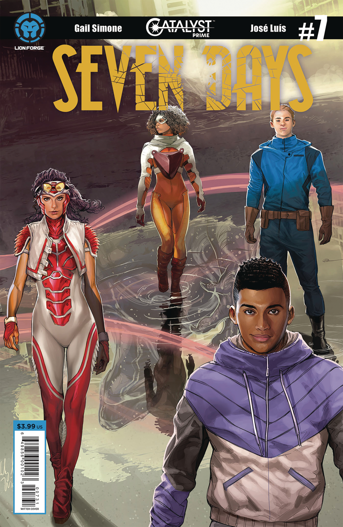 CATALYST PRIME SEVEN DAYS #7 (OF 7) CVR C SEJIC CONNECTING
