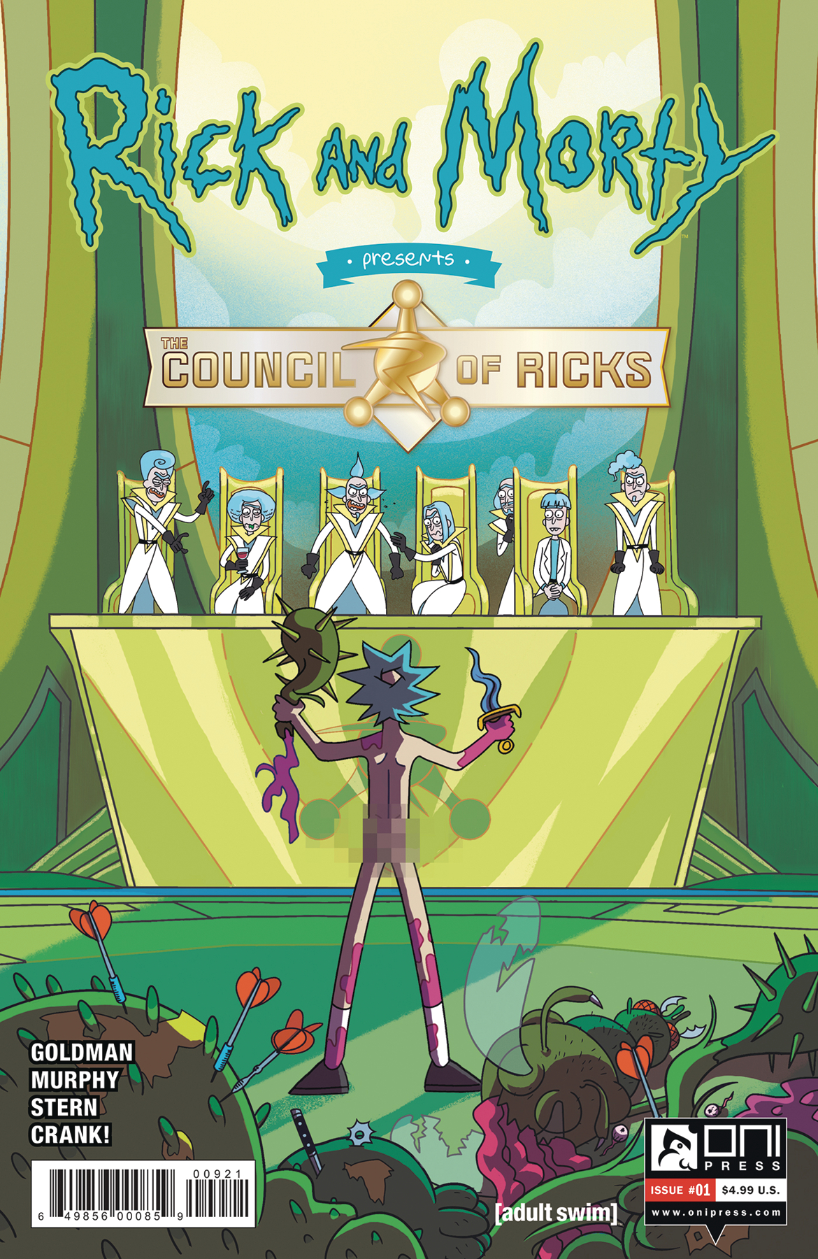 RICK AND MORTY PRESENTS COUNCIL OF RICKS #1 CVR B SCOTT