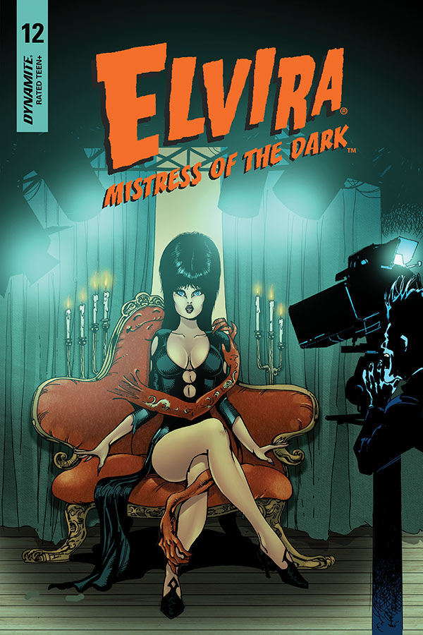 ELVIRA MISTRESS OF DARK #12 CASTRO FOC BONUS VAR