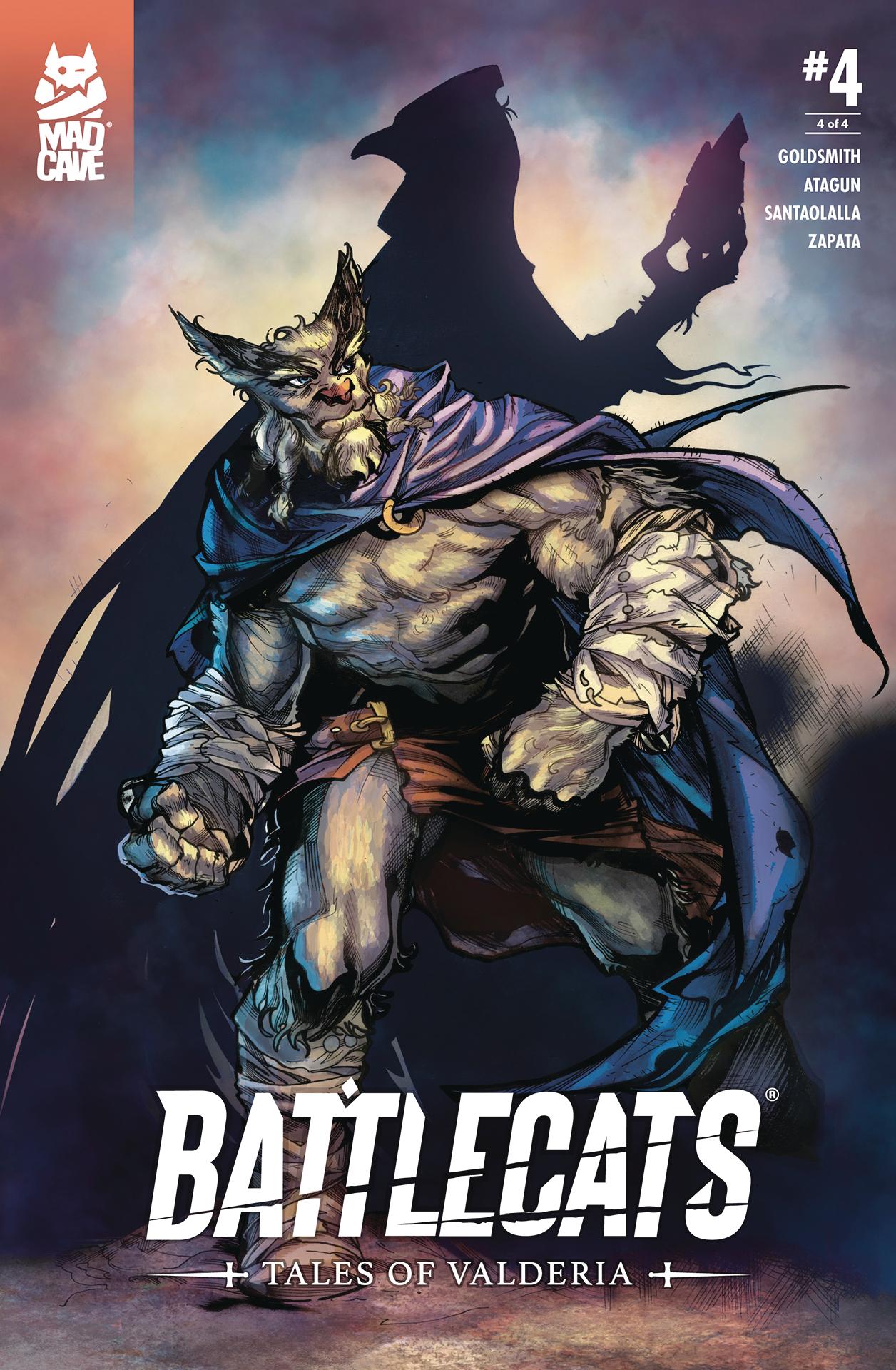 BATTLECATS TALES OF VALDERIA #4 (OF 4)
