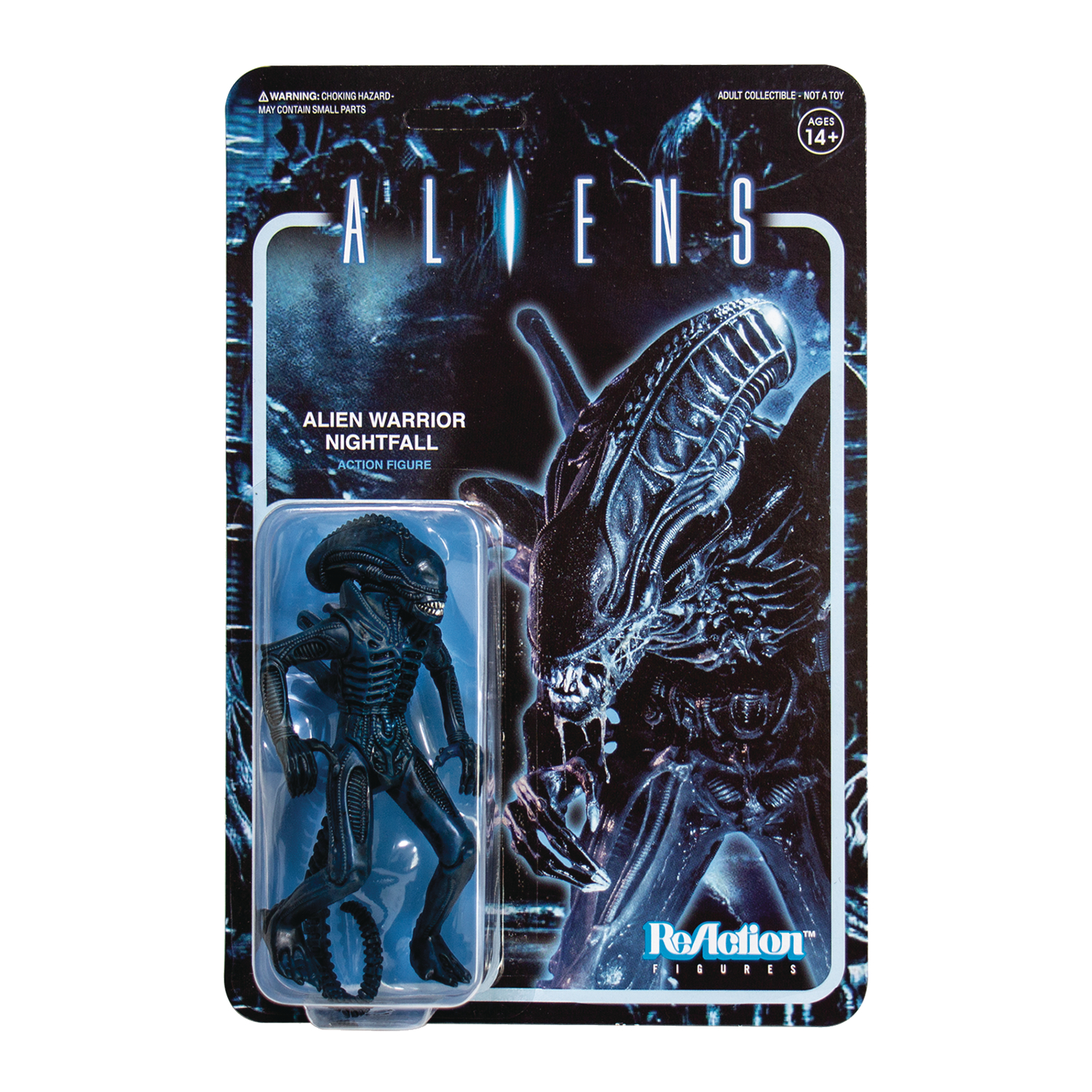 ALIENS WV1 ALIEN WARRIOR NIGHTFALL REACTION FIGURE