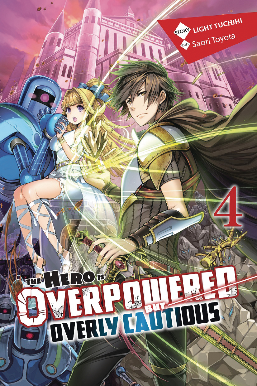 HERO OVERPOWERED BUT OVERLY CAUTIOUS NOVEL SC VOL 04