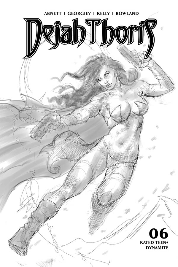 DEJAH THORIS (2019) #6 10 COPY PARRILLO B&W INCV