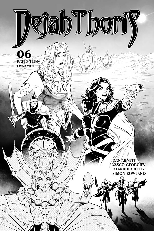 DEJAH THORIS (2019) #6 25 COPY GEORGIEV B&W INCV
