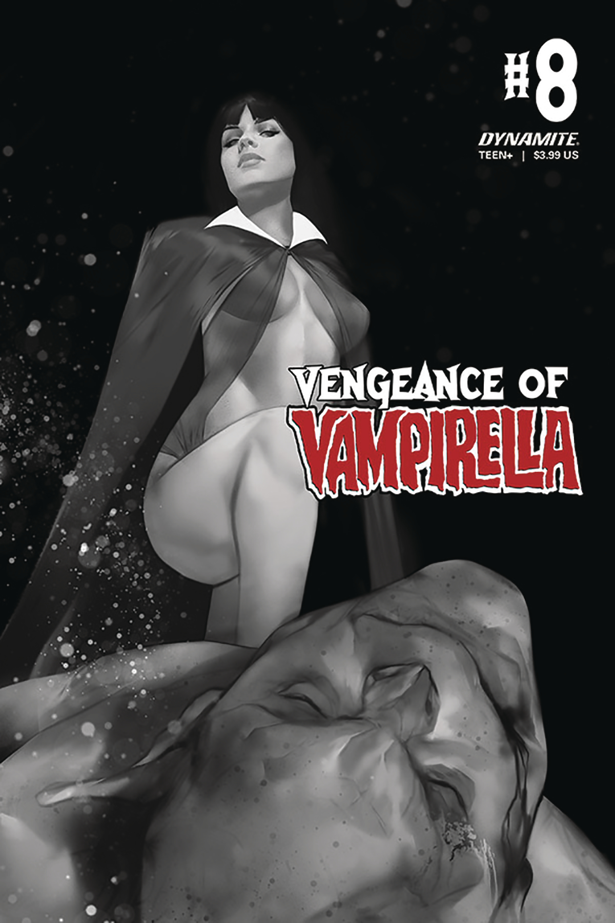 VENGEANCE OF VAMPIRELLA #8 CGC GRADED PARRILLO VAR