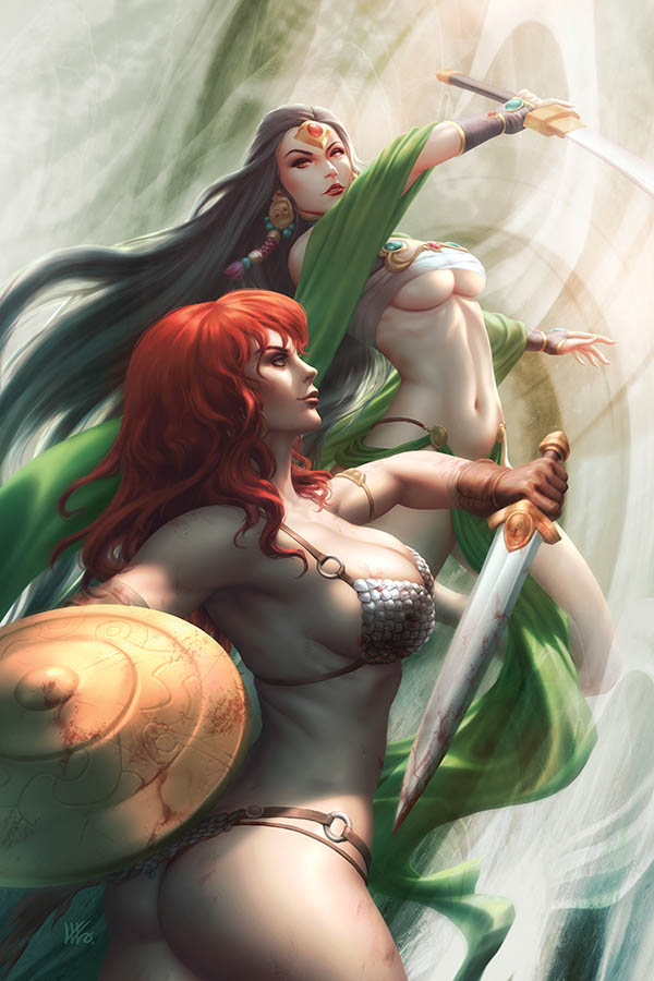 RED SONJA AGE OF CHAOS #5 KUNKKA LTD VIRGIN CVR