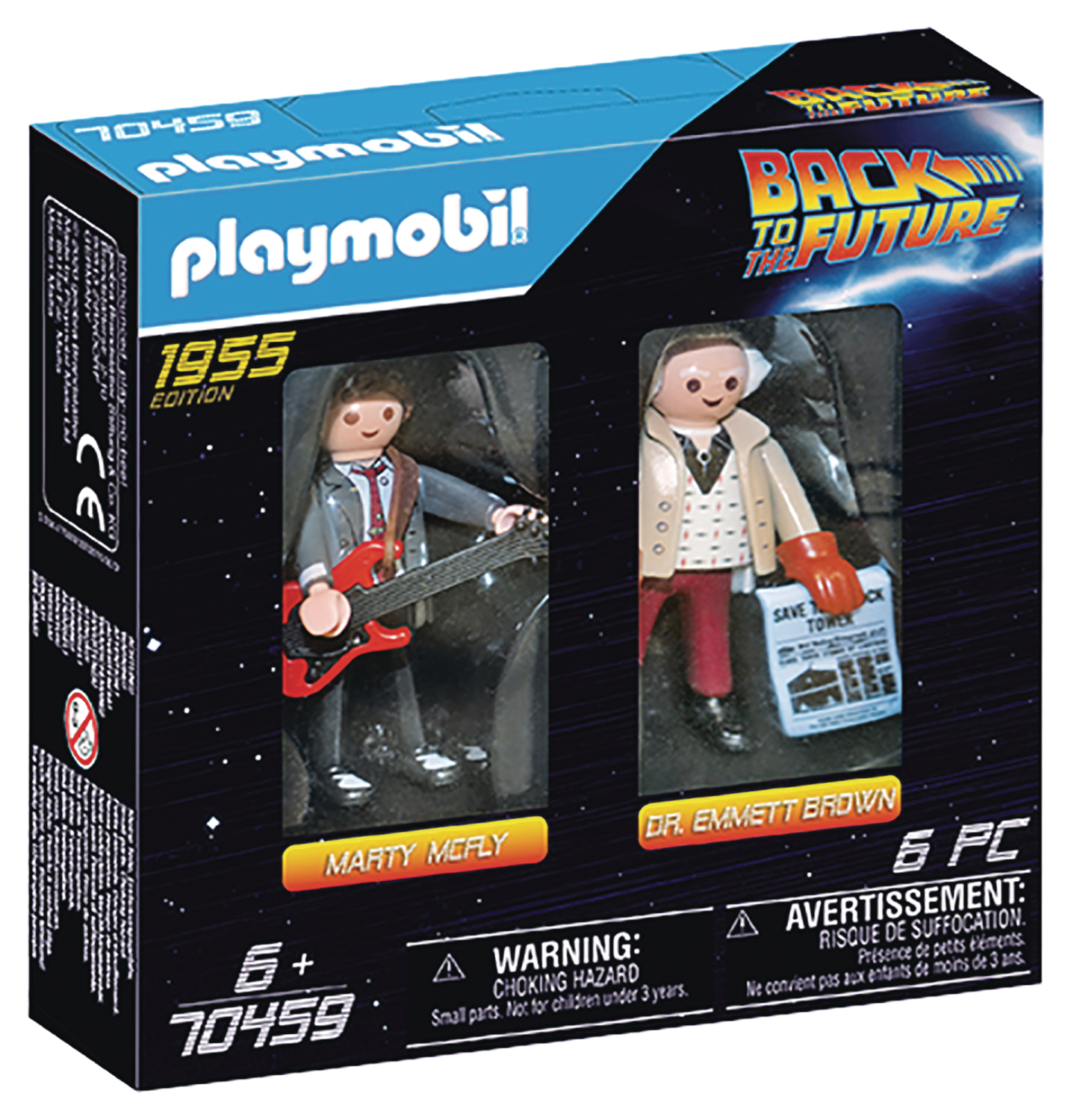 PLAYMOBIL BACK TO THE FUTURE MARTY & DR EMMETT BROWN 2PK (NE