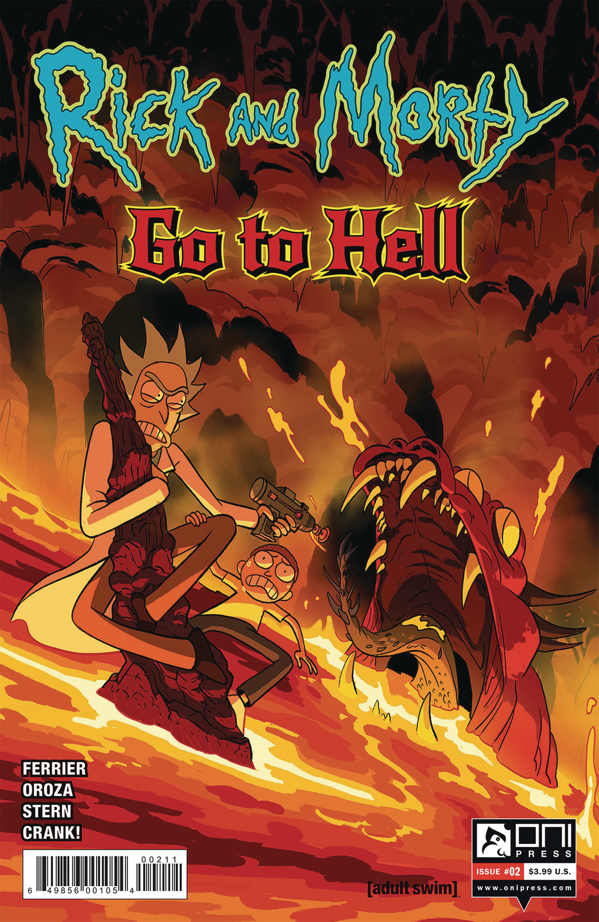 RICK AND MORTY GO TO HELL #2 CVR A OROZA