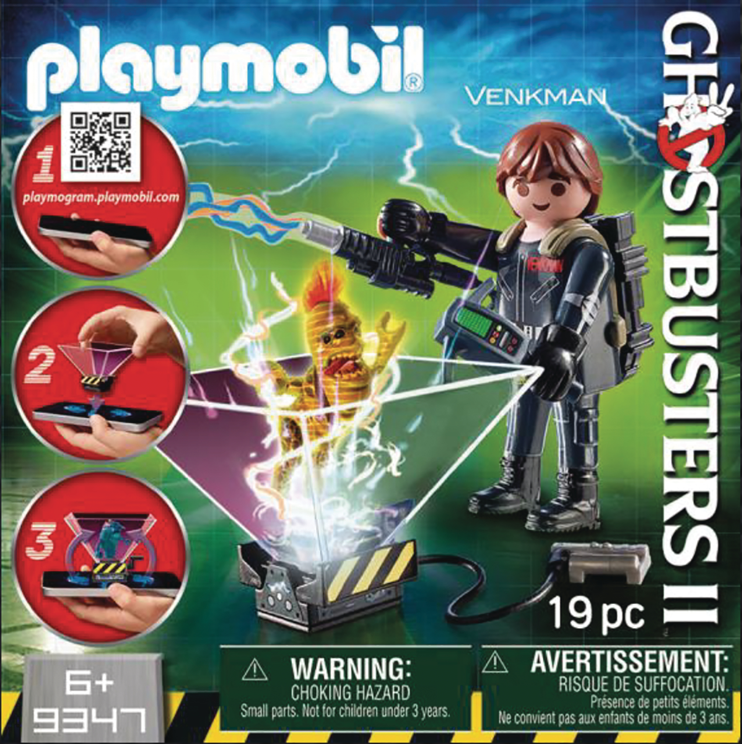 PLAYMOBIL GHOSTBUSTERS II PETER VENKMAN AF (DEC198624)