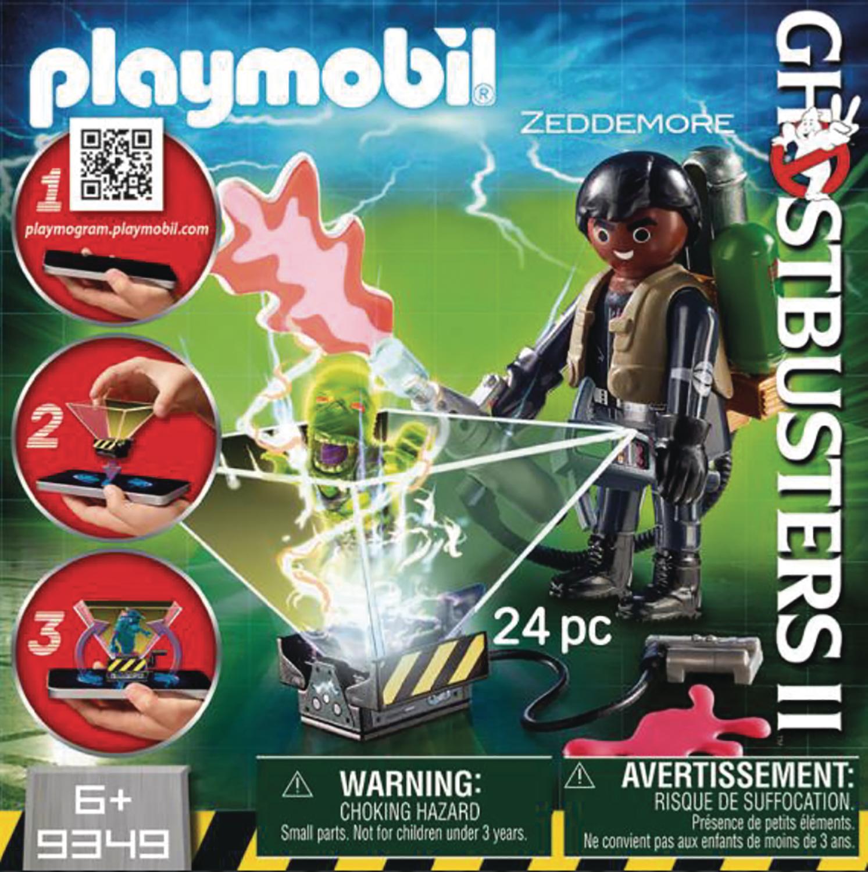Toy Used Very Good Ghostbusters Winston Zeddemore Playmobil