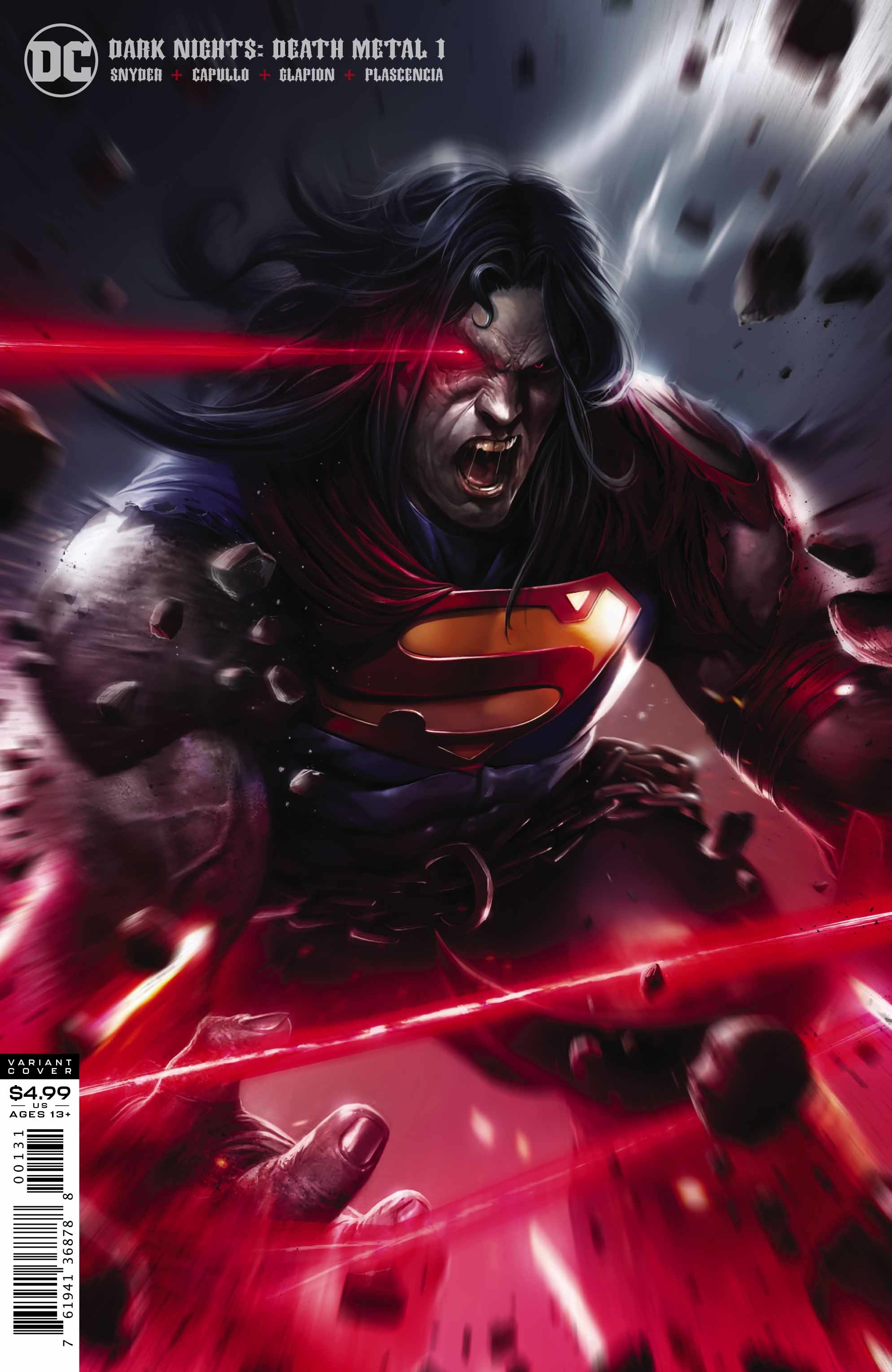 DARK NIGHTS DEATH METAL #1 (OF 6) MATTINA SUPERMAN VAR ED
