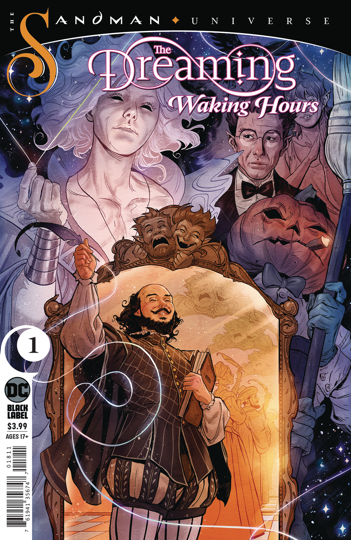 DREAMING WAKING HOURS #1 (RES) (MR)
