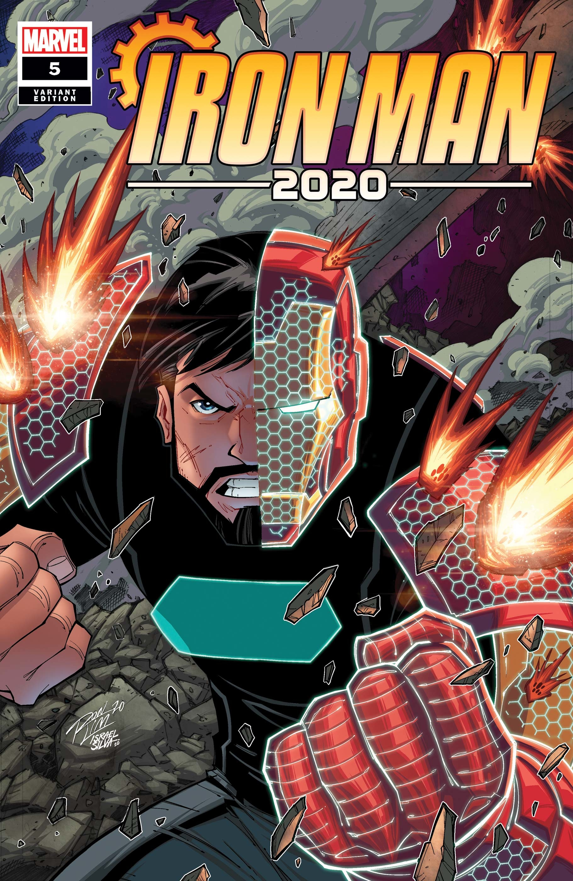 IRON MAN 2020 #5 (OF 6) RON LIM VAR