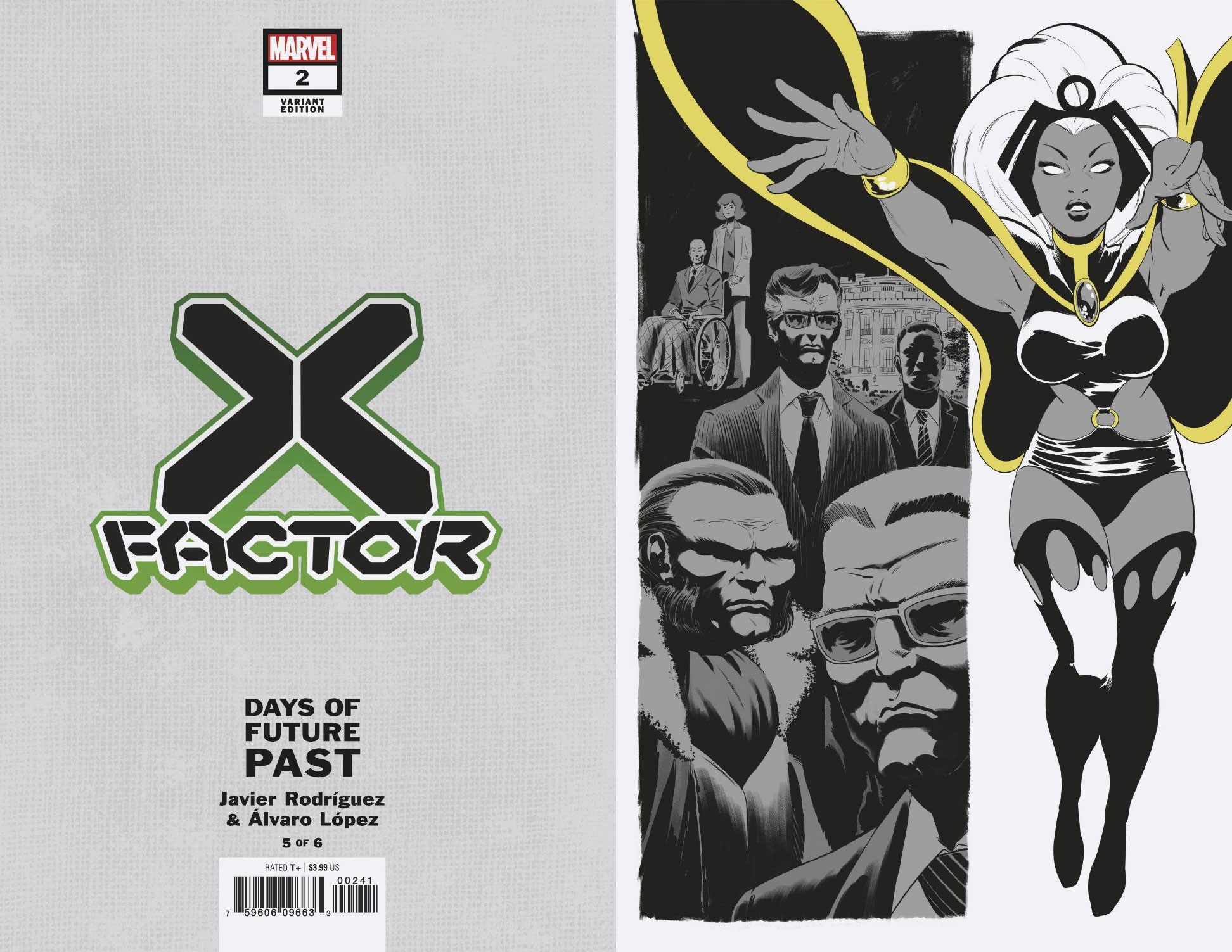 X-FACTOR #2 RODRIGUEZ DAYS OF FUTURE PAST VAR