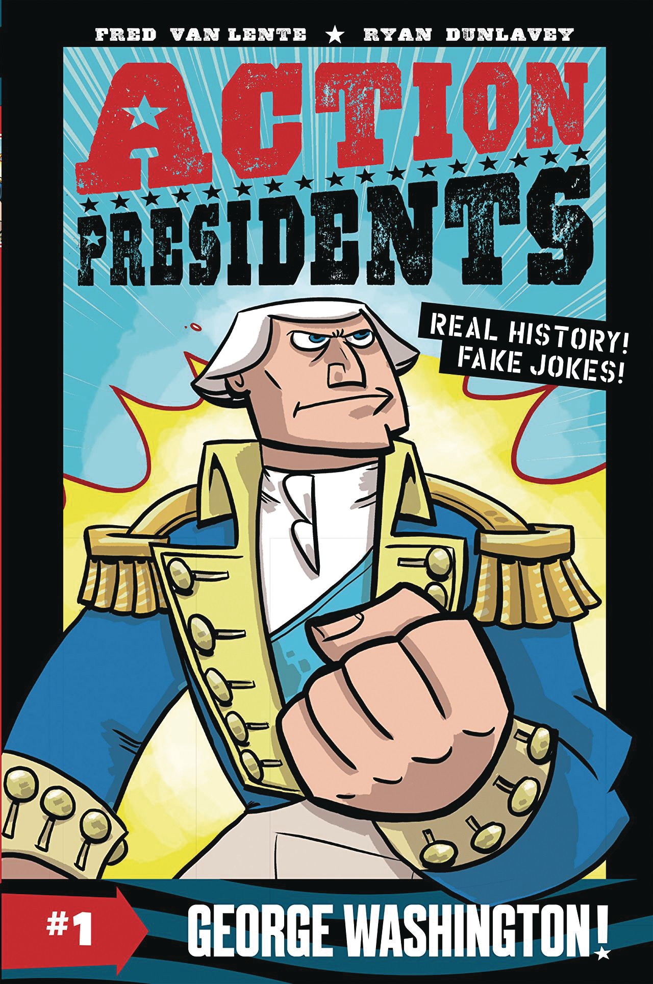 ACTION PRESIDENTS COLOR HC GN VOL 01 GEORGE WASHINGTON