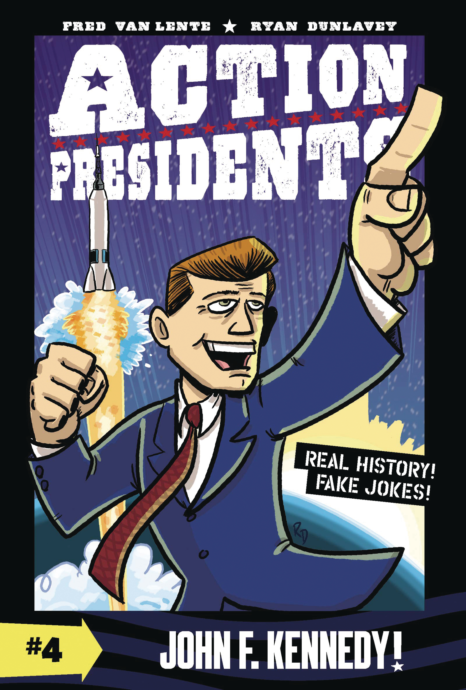ACTION PRESIDENTS COLOR HC GN VOL 04 JOHN F KENNEDY