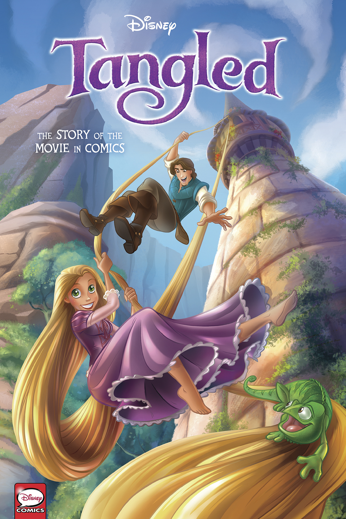 DISNEY TANGLED STORY OF THE MOVIE IN COMICS HC