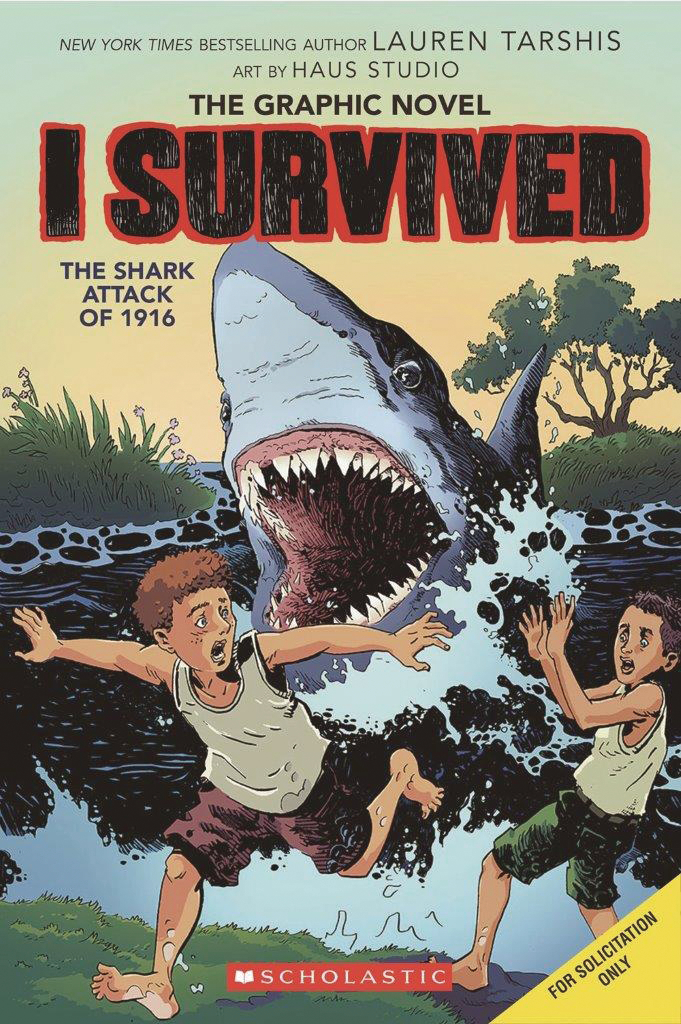 I SURVIVED HC GN VOL 02 SHARK ATTACKS OF 1916