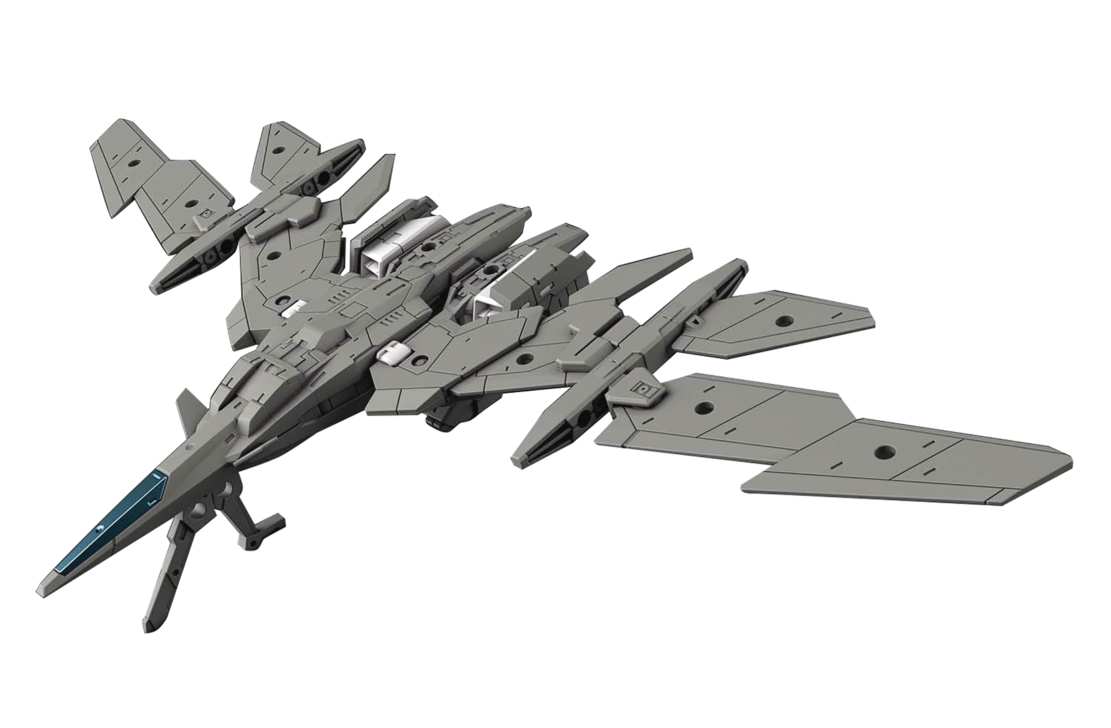 30 MINUTE MISSION AIR FIGHTER GRAY EXT ARM VEHICLE MDL KIT (