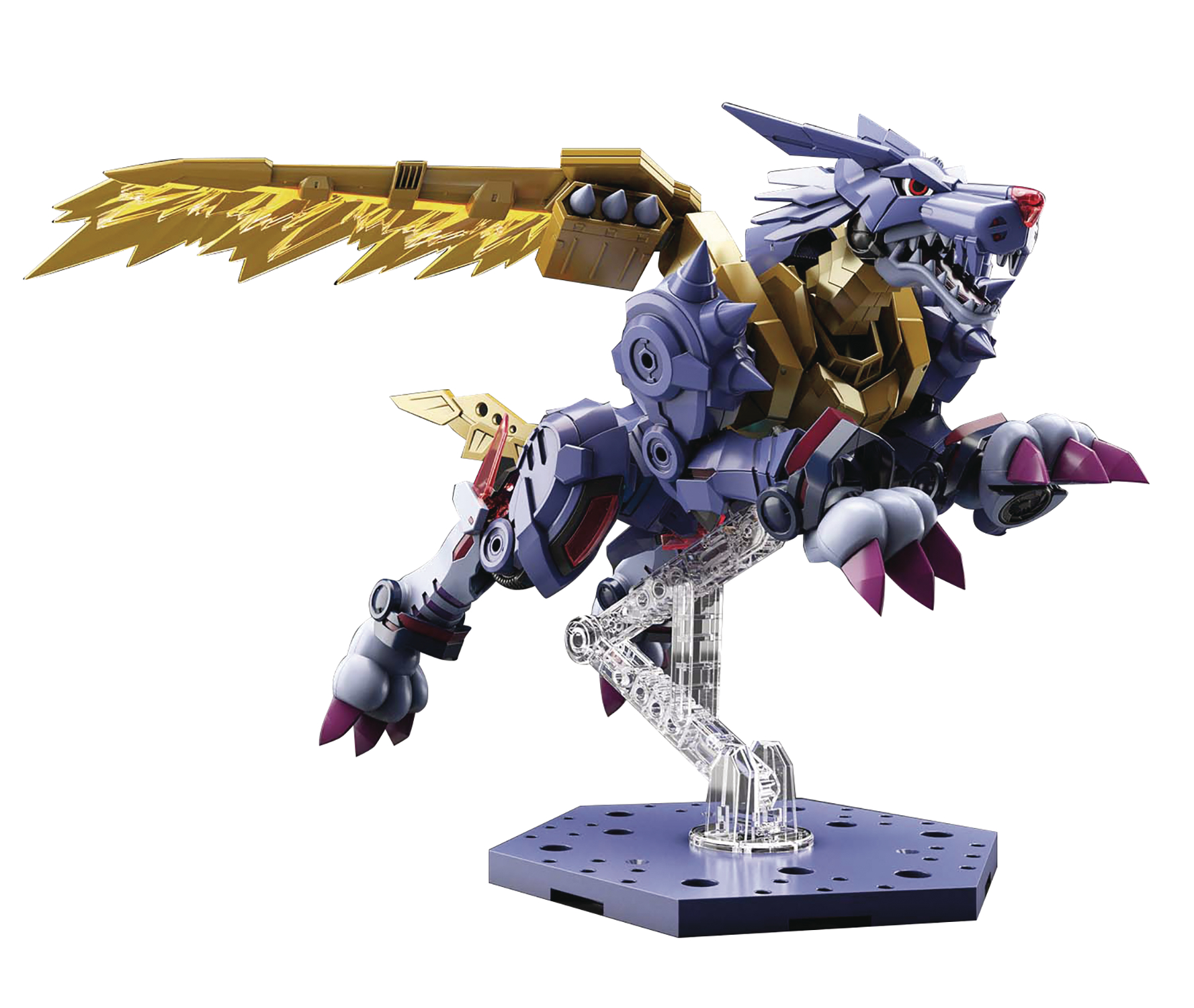 DIGIMON AMPLIFIED METAL GARURUMON FIG-RISE STD MDL KIT