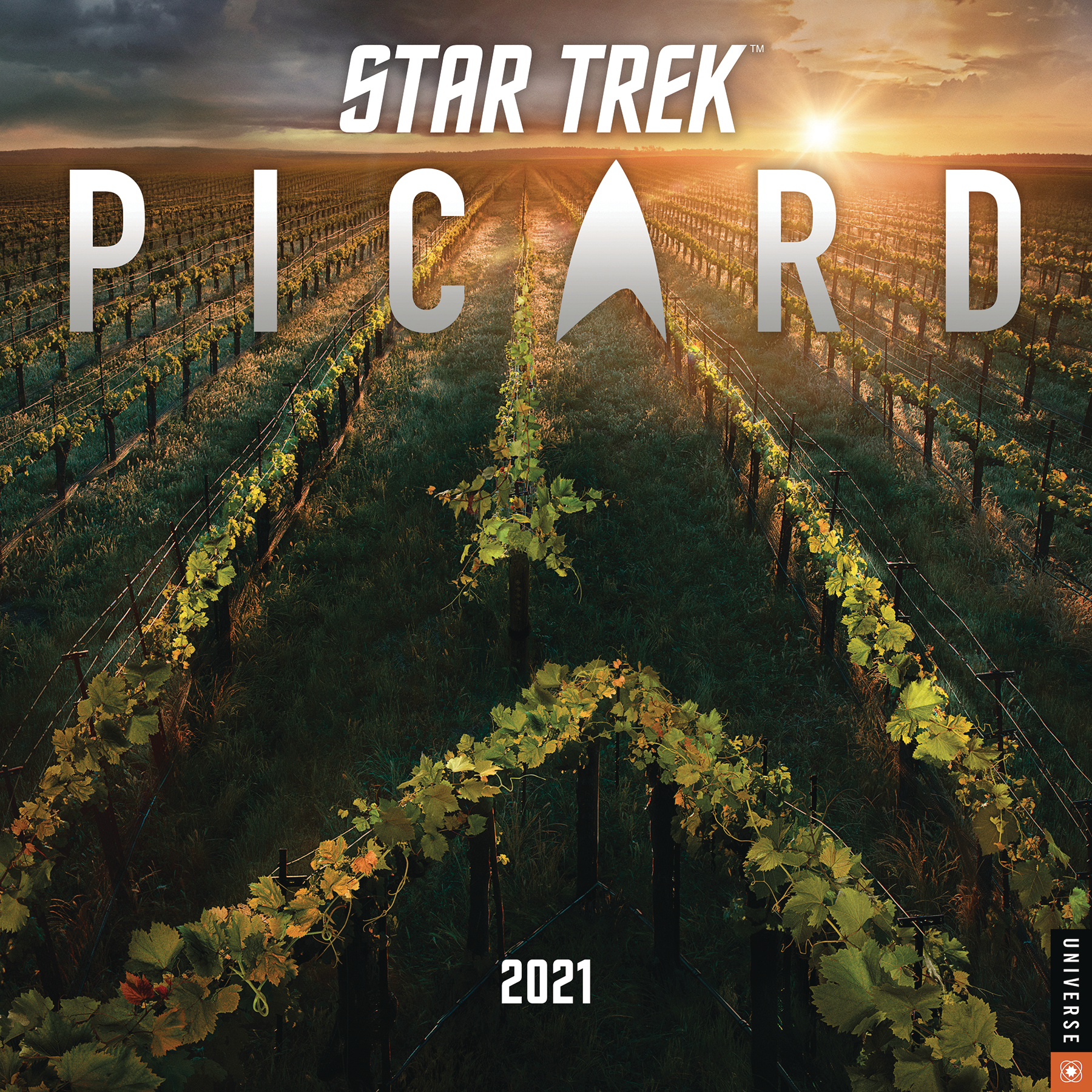 STAR TREK PICARD 2021 WALL CALENDAR