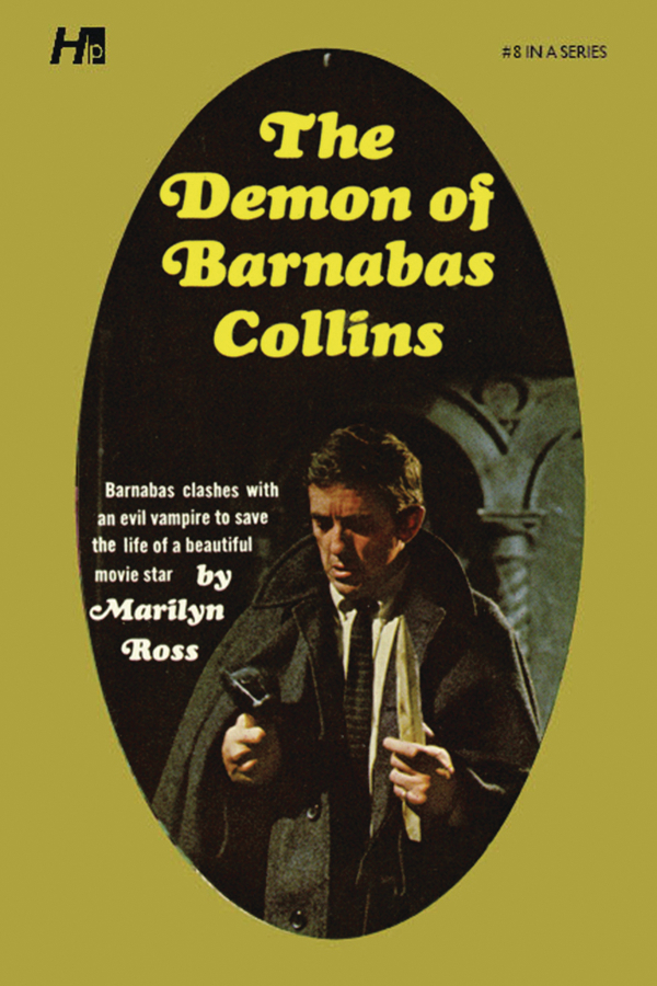 DARK SHADOWS PAPERBACK LIBRARY NOVEL VOL 08 DEMON OF BARNABA