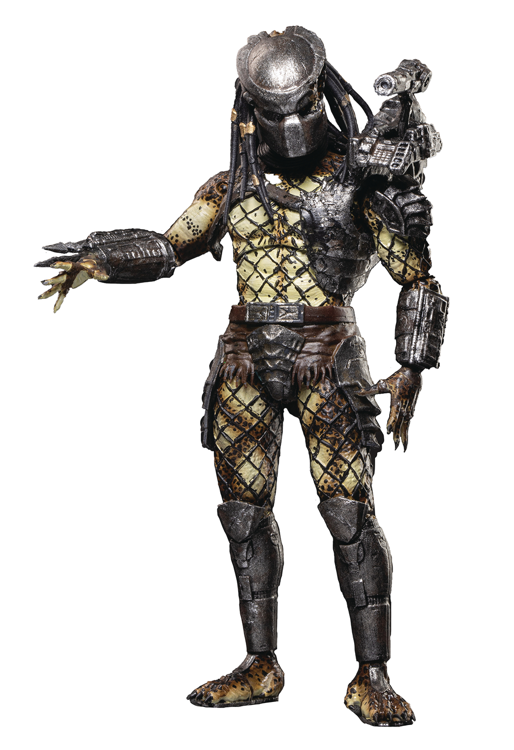 PREDATORS ARMORED CRUCIFIED PREDATOR PX 1/18 SCALE FIG (JAN2
