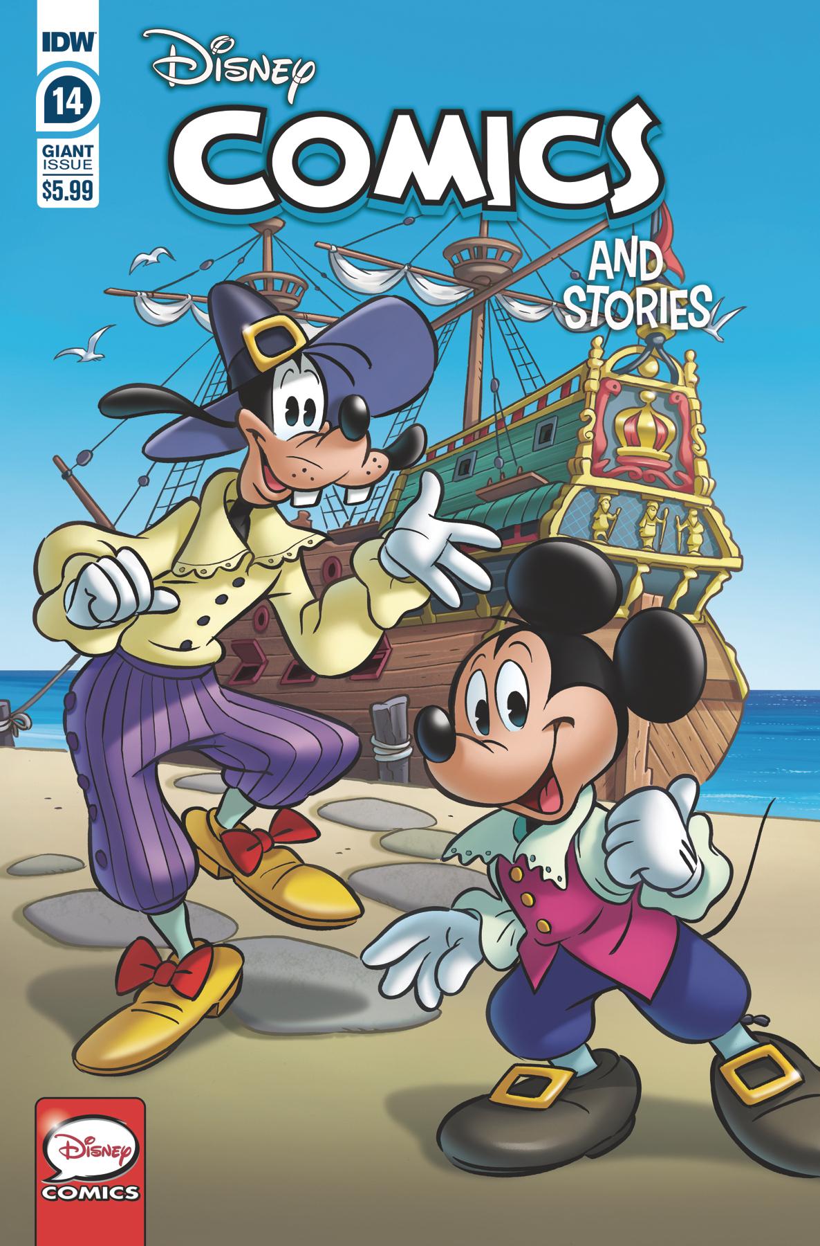 DISNEY COMICS AND STORIES #14 CVR A PERINA