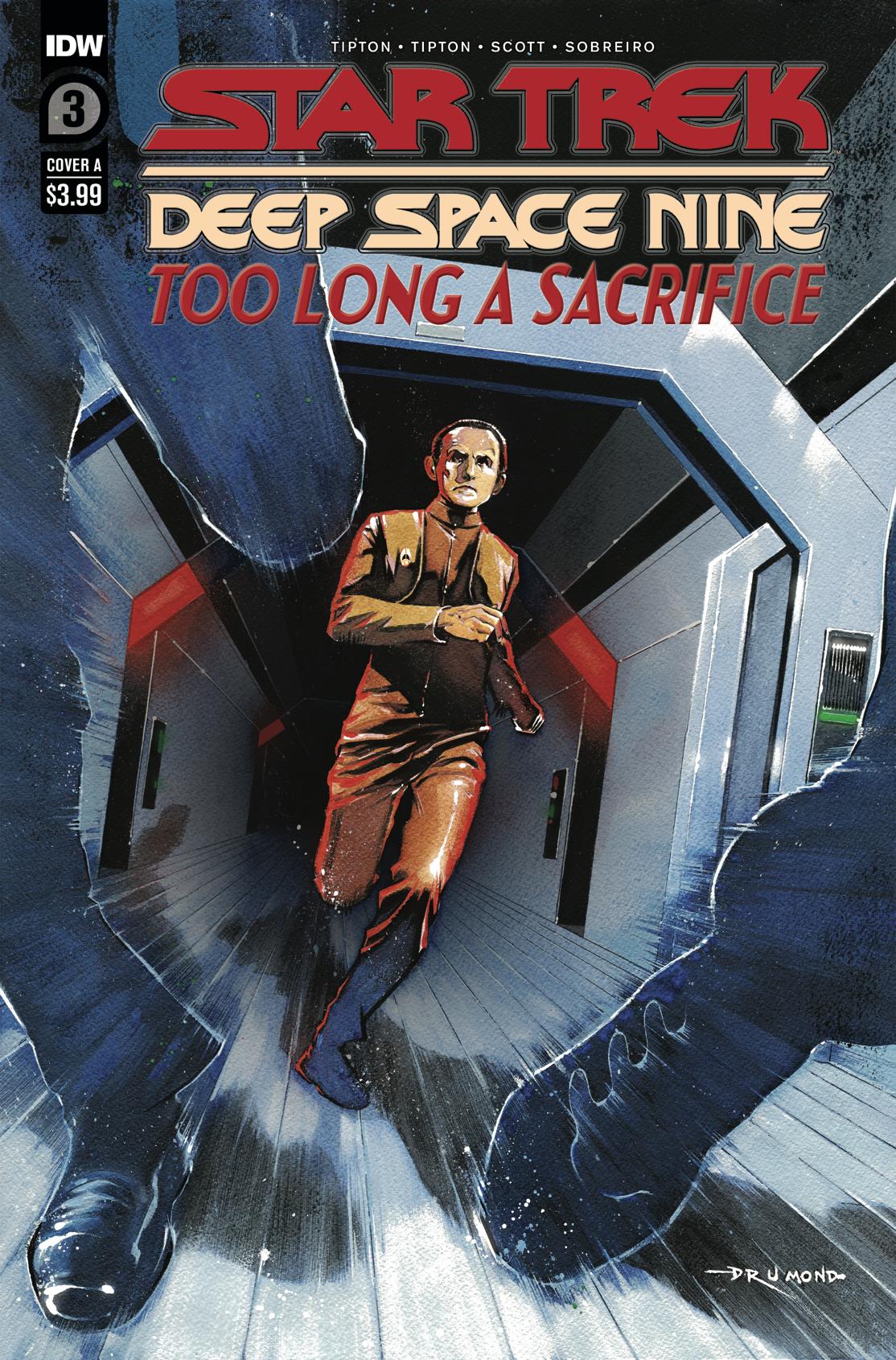 STAR TREK DS9 TOO LONG A SACRIFICE #3 CVR A DRUMOND
