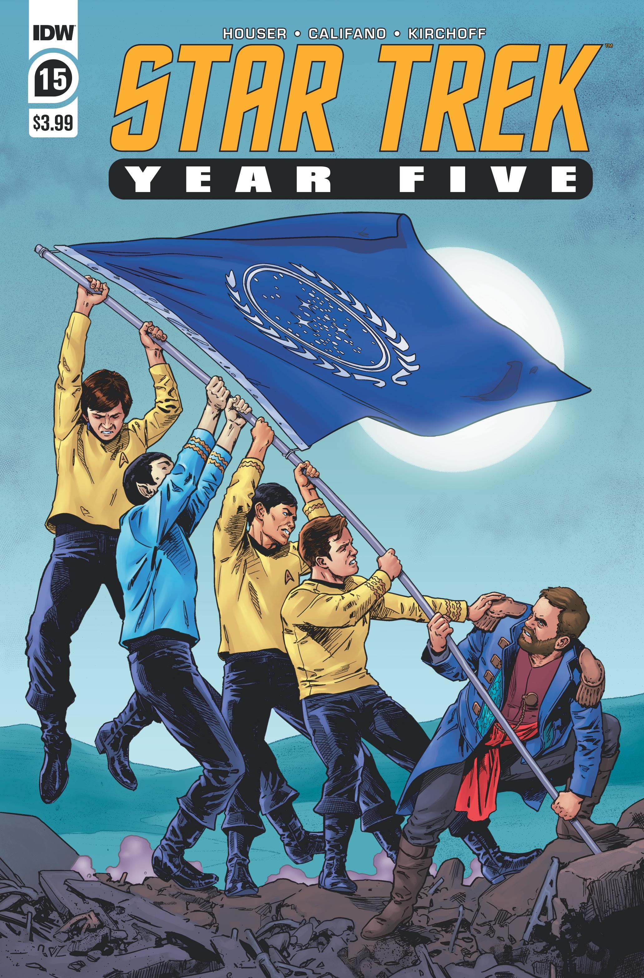 STAR TREK YEAR FIVE #15 CVR A THOMPSON