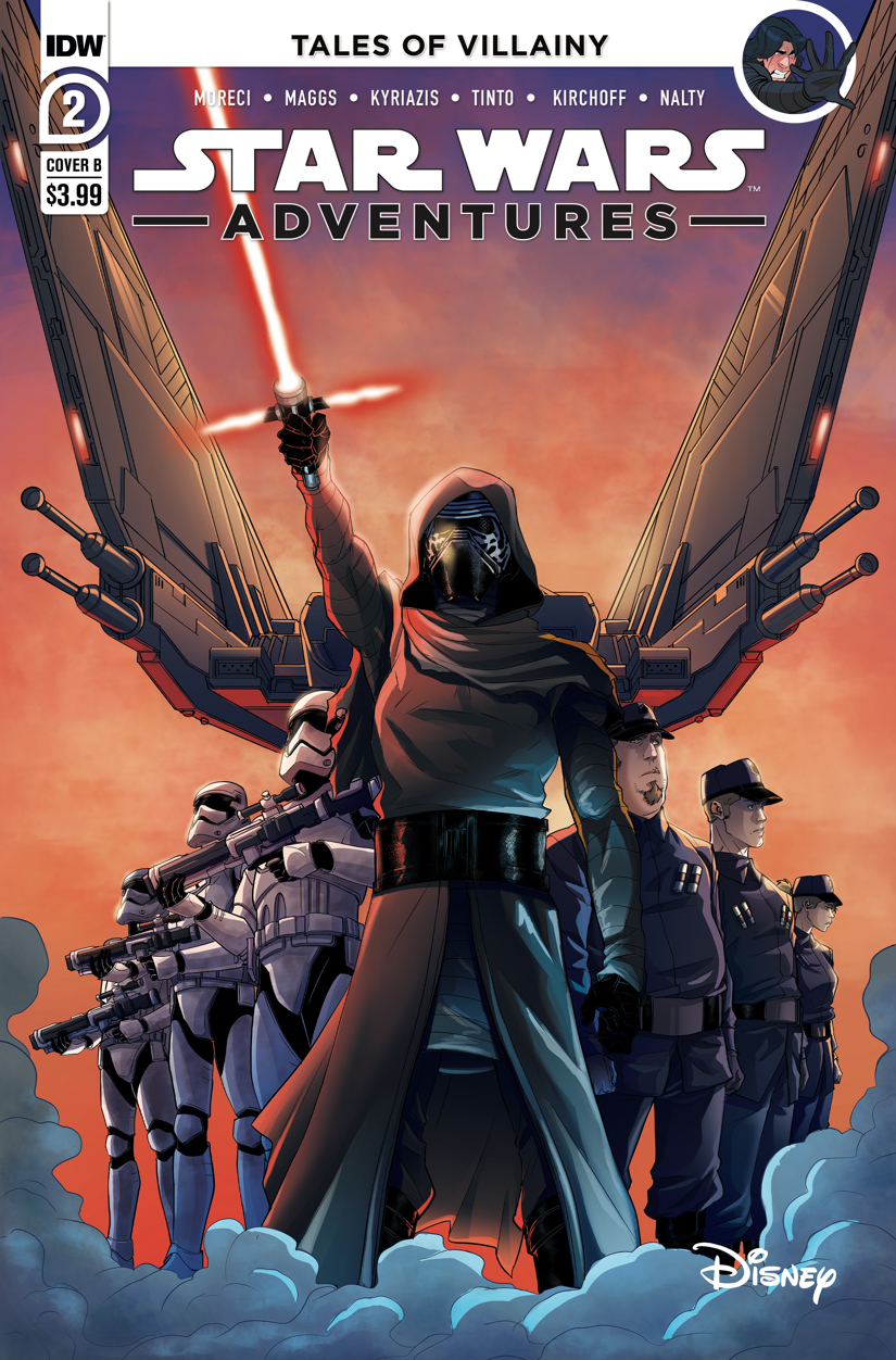 STAR WARS ADVENTURES (2020) #2 CVR B LEVENS