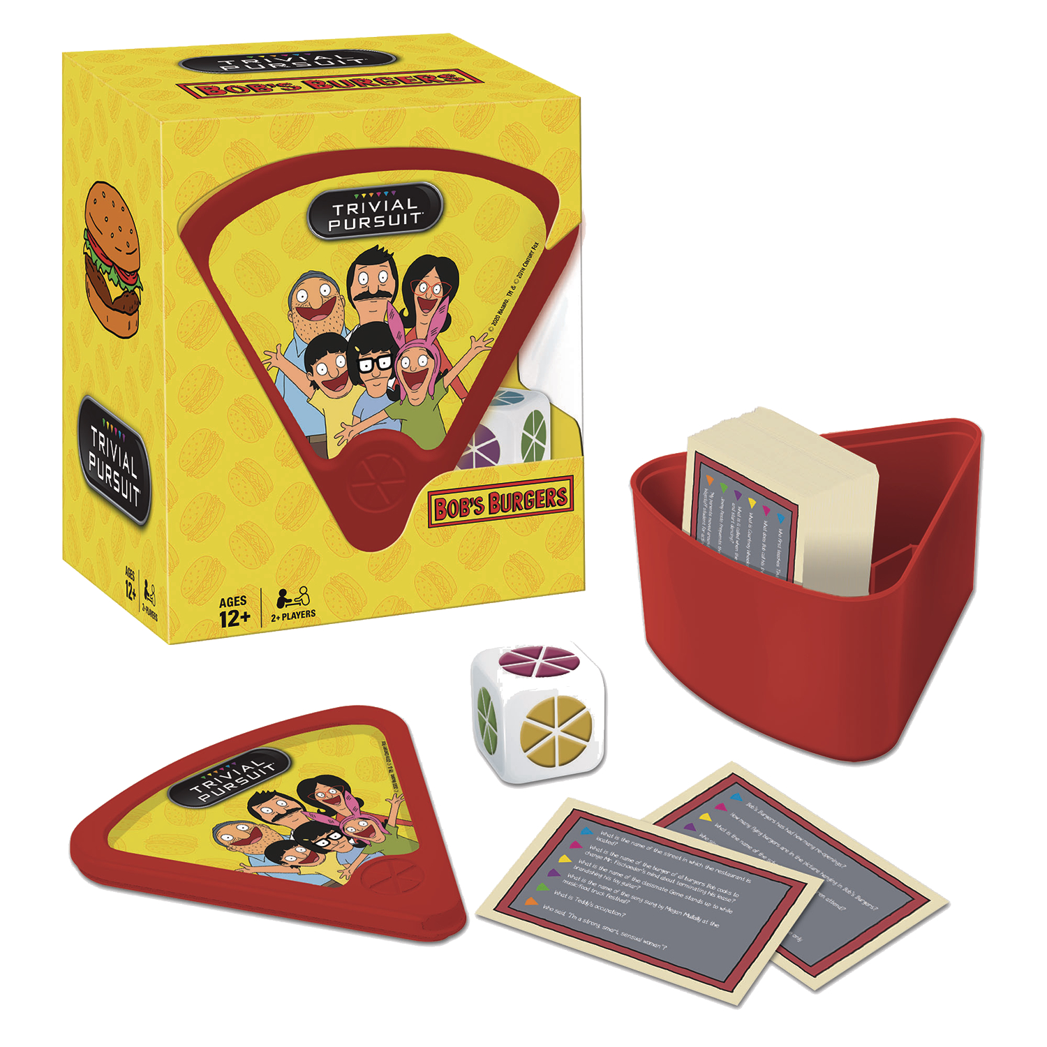 TRIVIAL PURSUIT BOBS BURGERS BOARDGAME