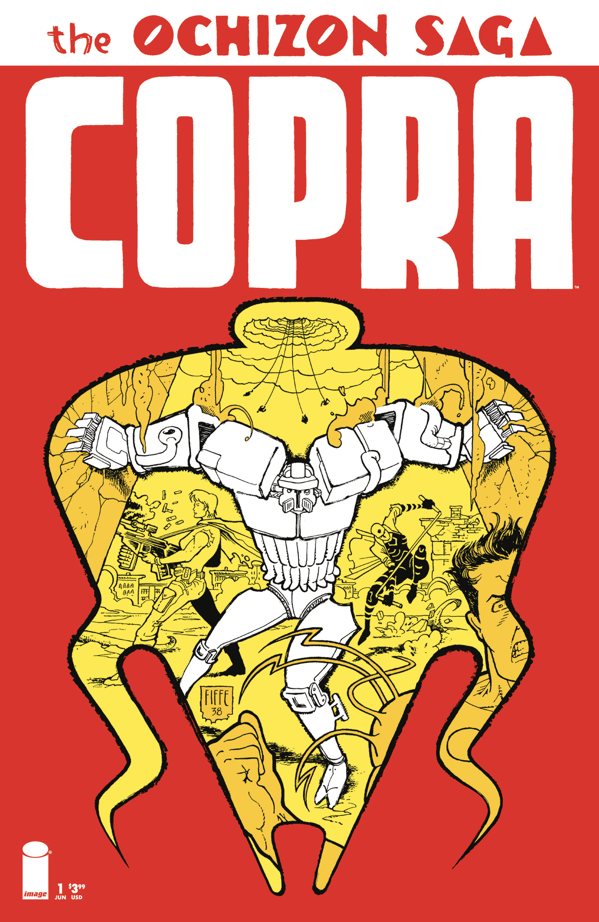COPRA OCHIZON SAGA #1 (OF 4)