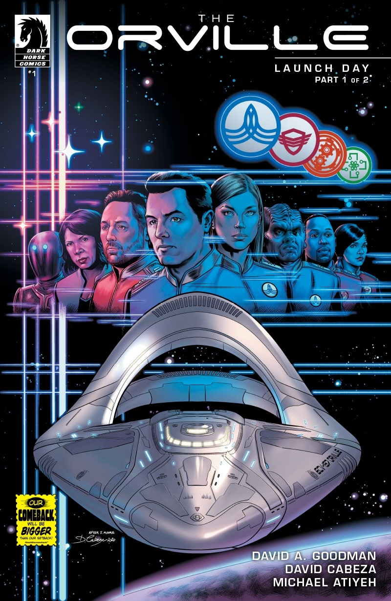 ORVILLE #1 LAUNCH DAY (PT 1 OF 2) (RES)