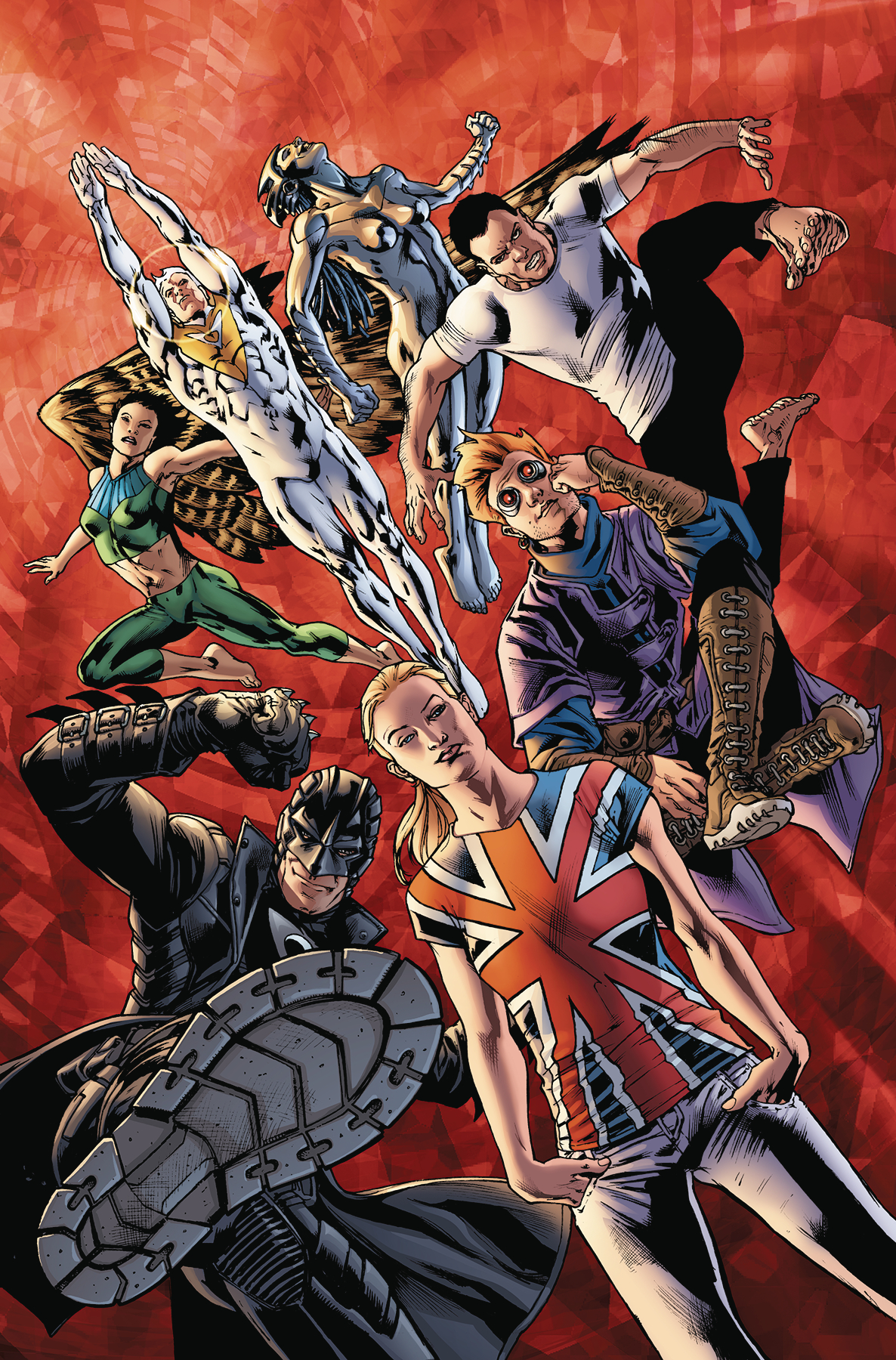 AUTHORITY TP VOL 01 (1999 #1-12) [Warren ELLIS & Bryan HITCH]