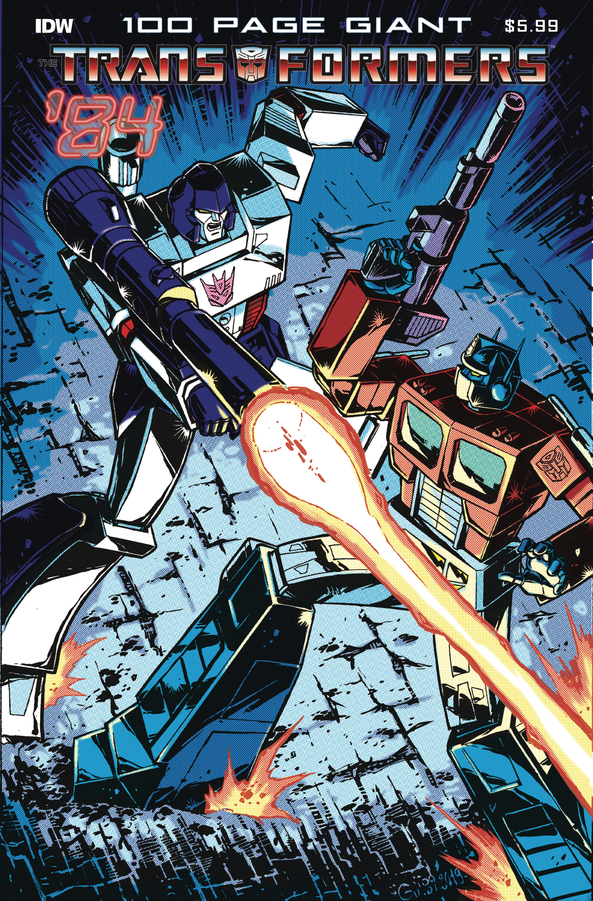 TRANSFORMERS 84 LEGENDS & RUMORS 100-PAGE GIANT