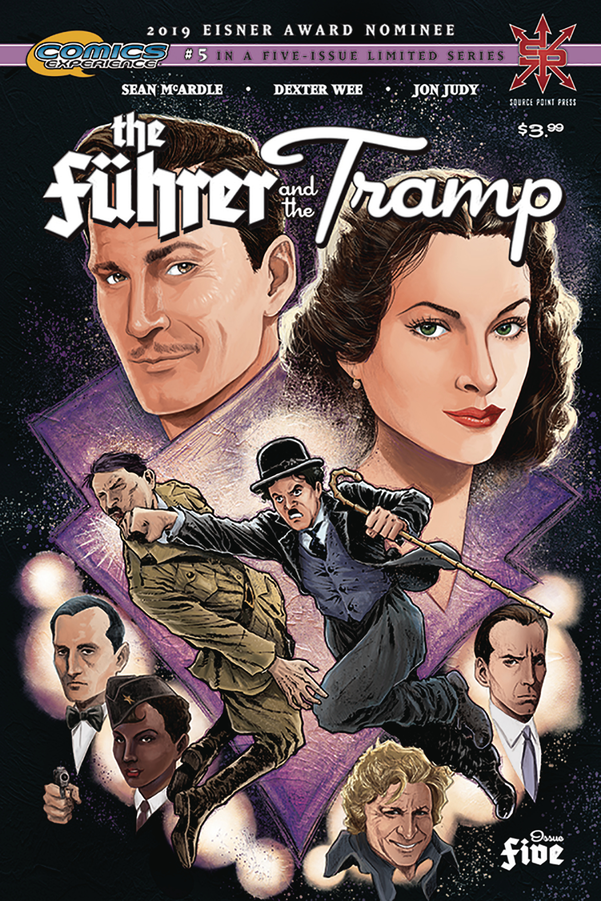 FUHRER AND THE TRAMP #5 (OF 5)