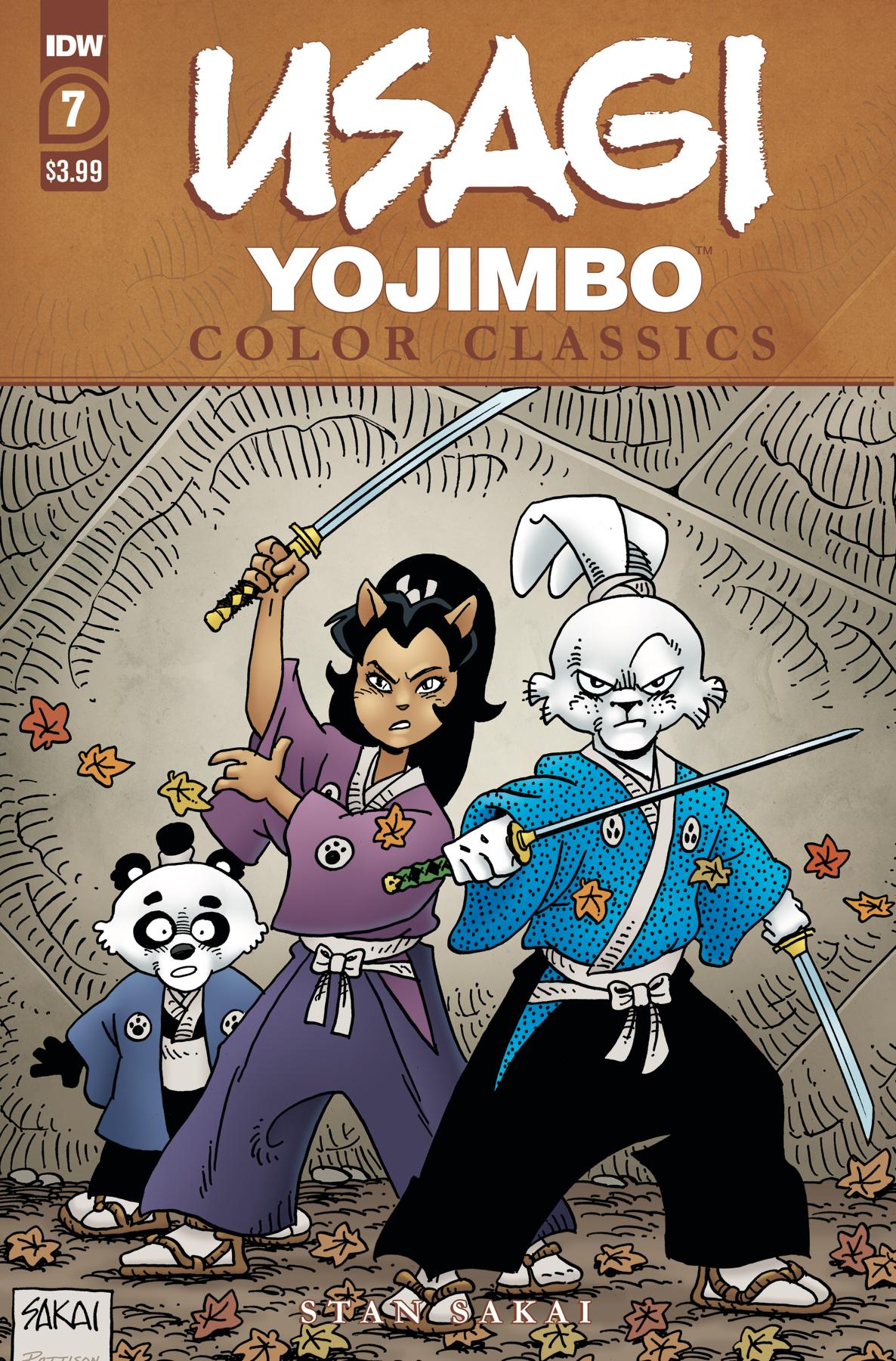 USAGI YOJIMBO COLOR CLASSICS #7 (OF 7)