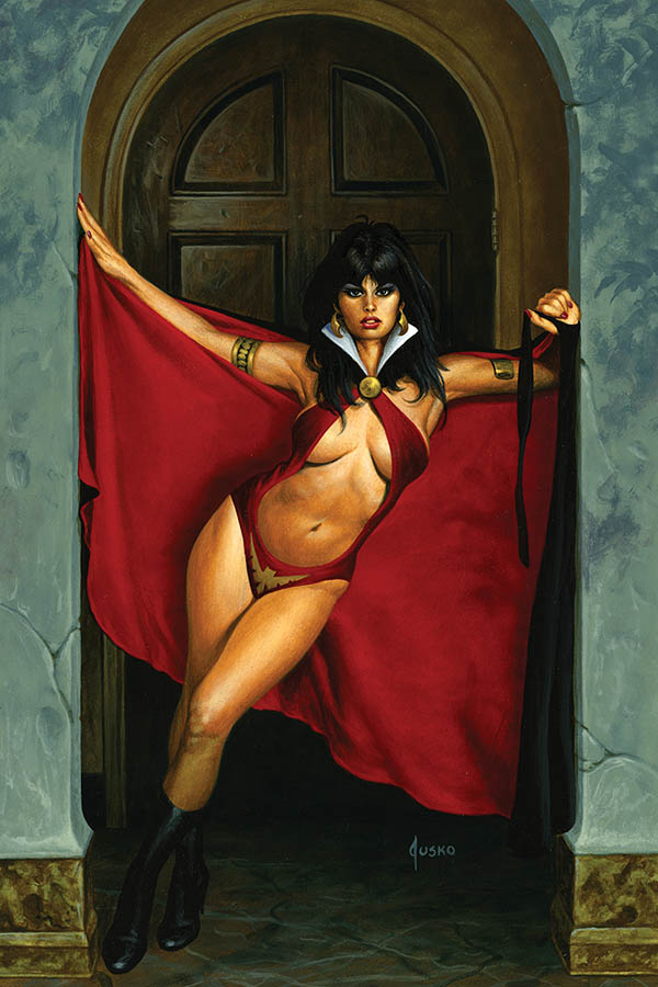 VAMPIRELLA #13 JUSKO LTD VIRGIN VAR
