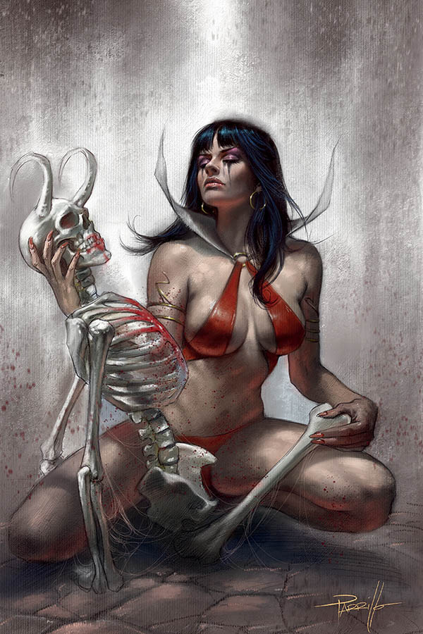 VAMPIRELLA #13 PARRILLO LTD VIRGIN VAR