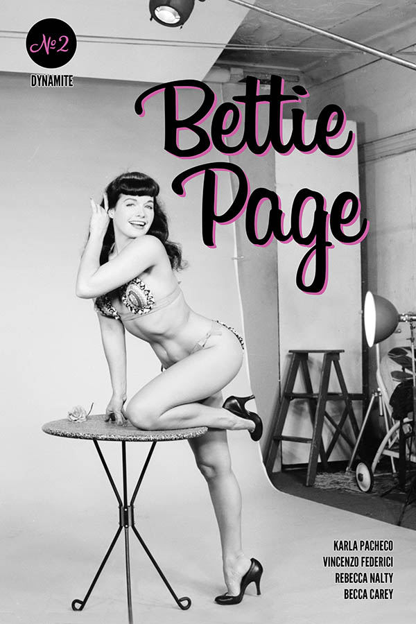 BETTIE PAGE #2 CVR E PHOTO