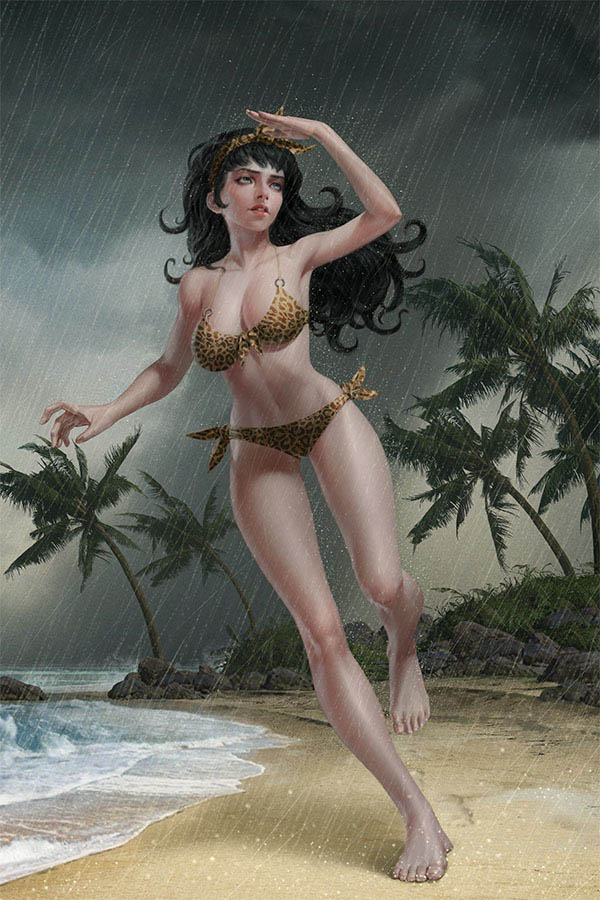 BETTIE PAGE #2 YOON LTD VIRGIN VAR