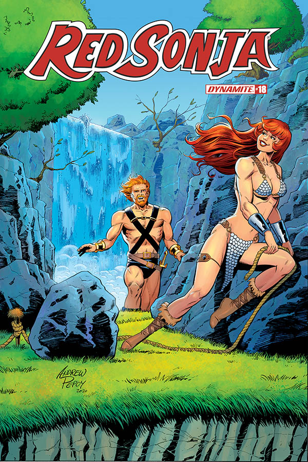 RED SONJA #18 10 COPY PEPOY SEDUCTION INCV