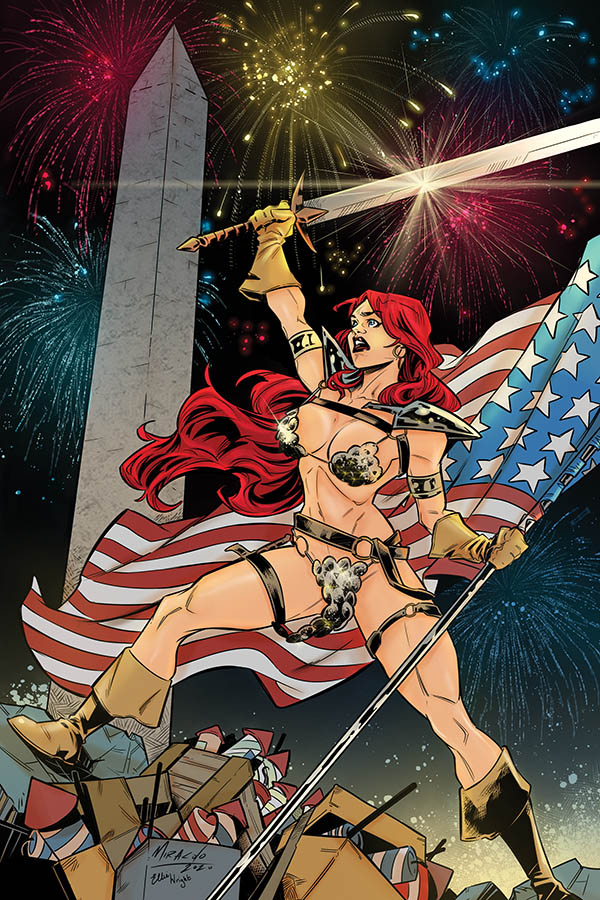RED SONJA #18 15 COPY MIRACOLO AMERICA TOGETHER VIRGIN INCV