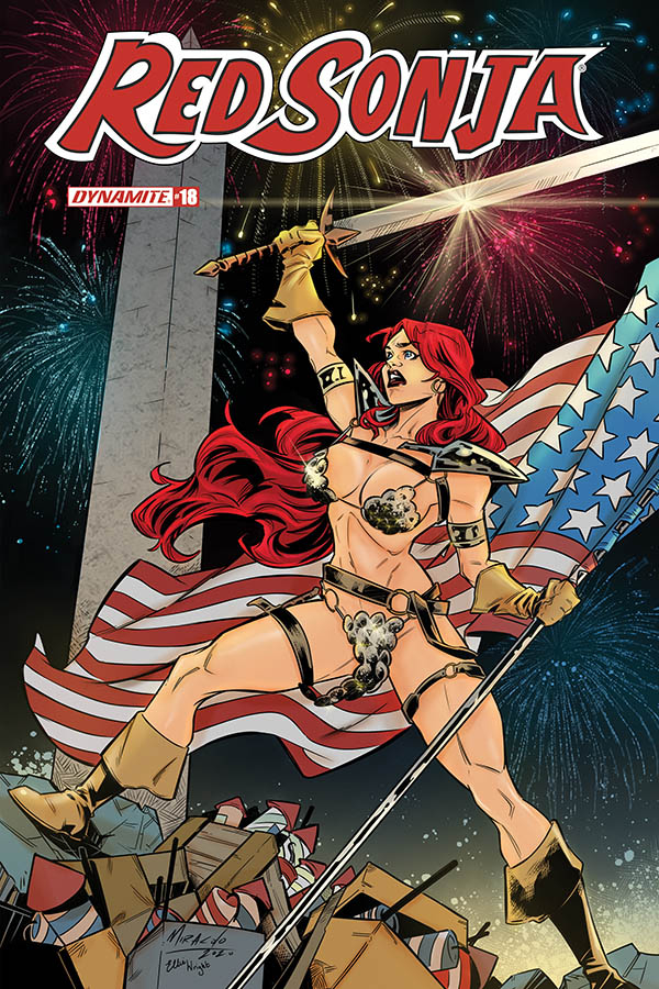 RED SONJA #18 7 COPY MIRACOLO AMERICA TOGETHER INCV