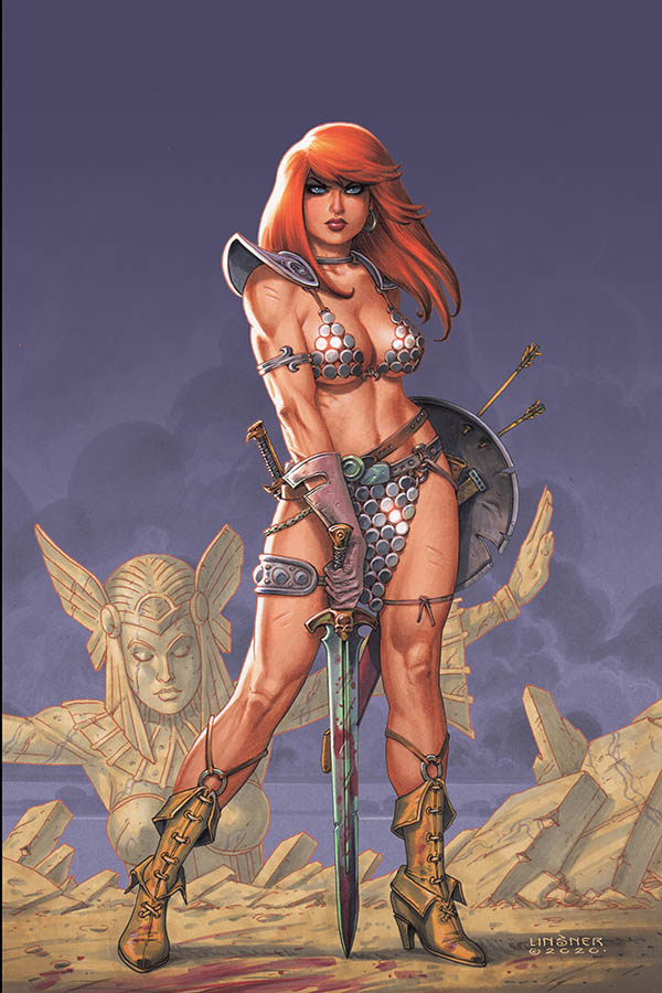 RED SONJA #18 LINSNER LTD VIRGIN CVR